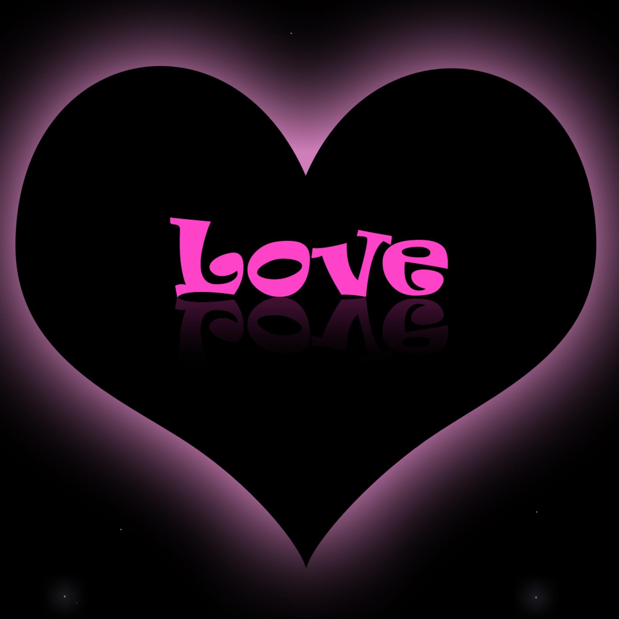Love Heart Love Pink Purple Wallpaper #13481 Wallpaper computer | best  website wallpaperput.com