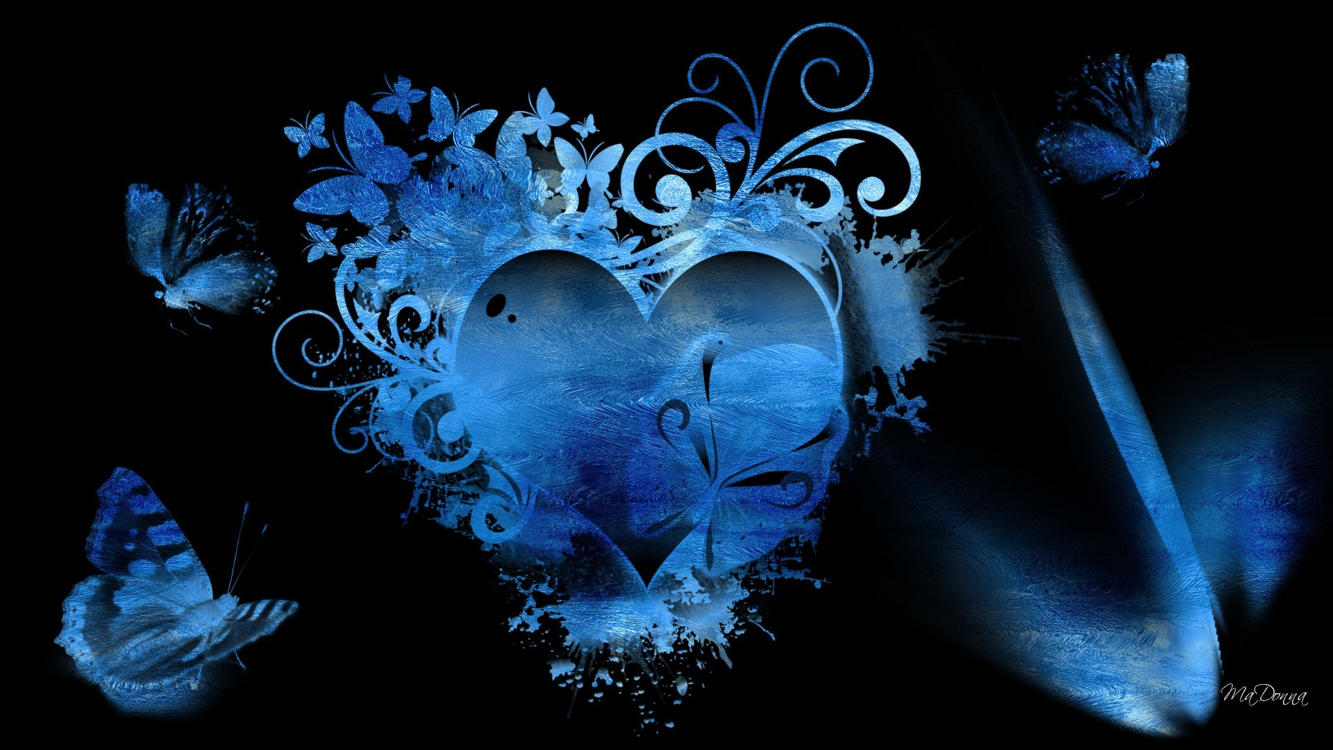 Blue Hearts Wallpaper – Wallpapers High Definition