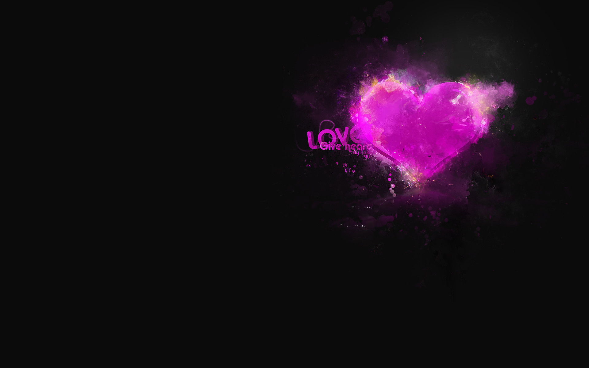 Love Background Black – HDWallie – HD Wallpapers