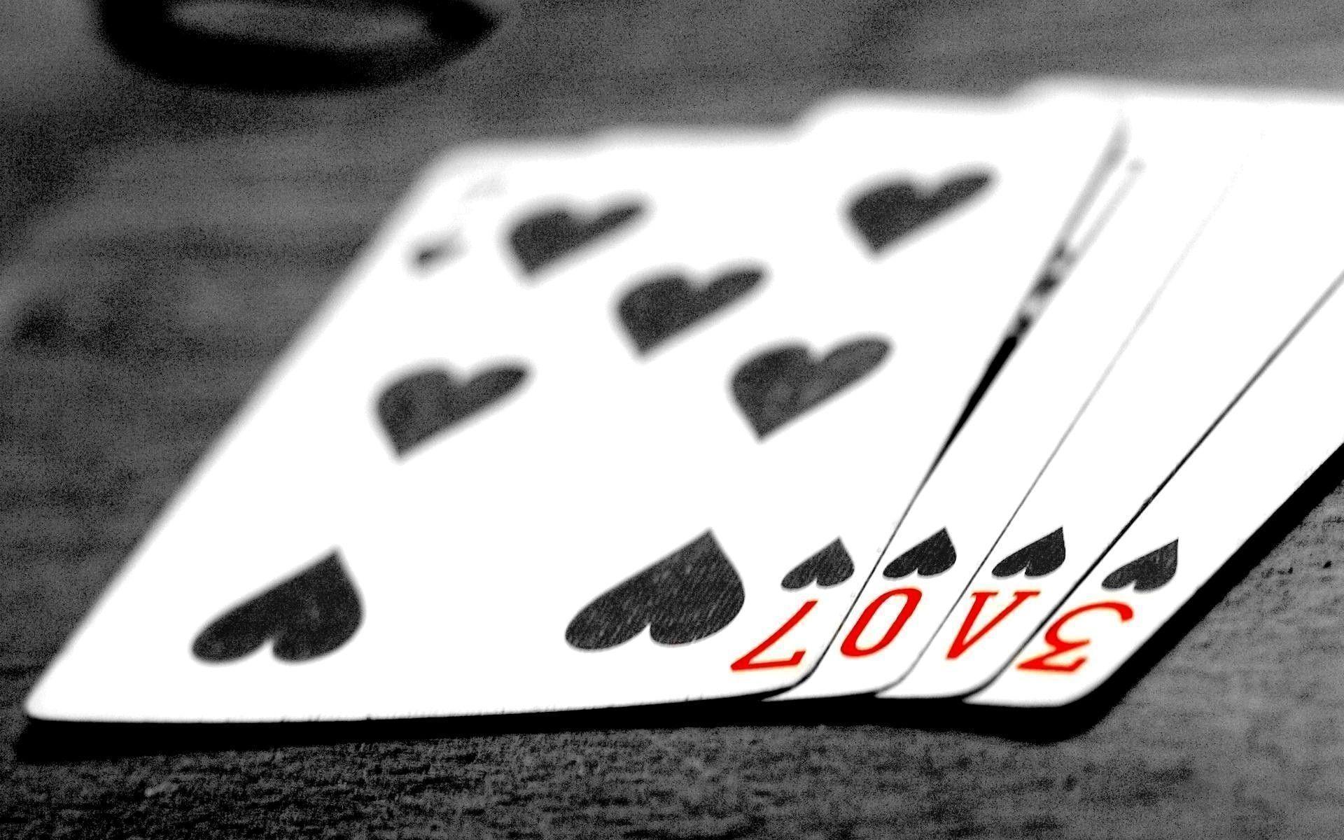 Black Love Playing Card Wallpaper Desktop #3514 Wallpaper | High .