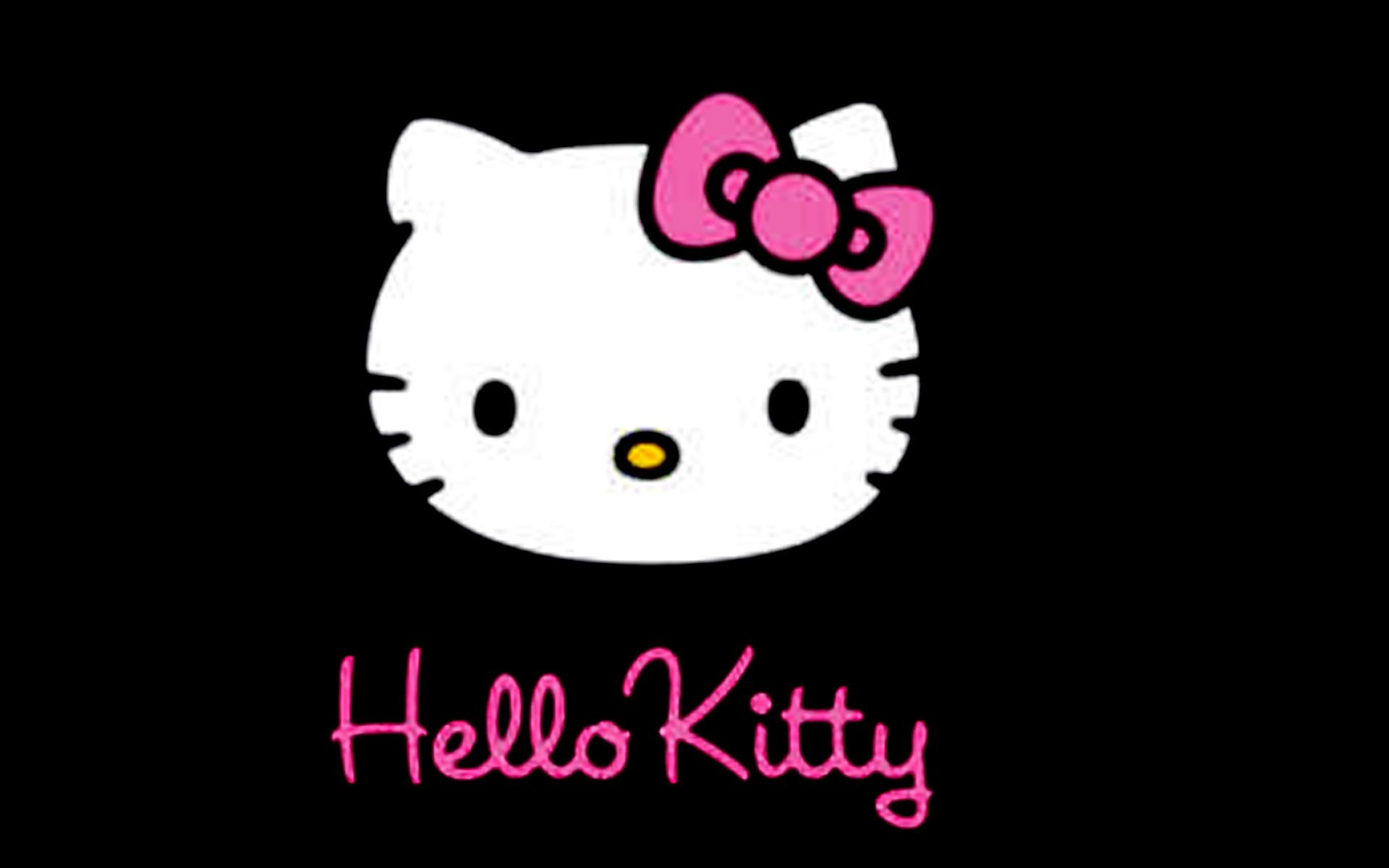 Hello Kitty Pink And Black Love Wallpaper For Android #xekd4 .