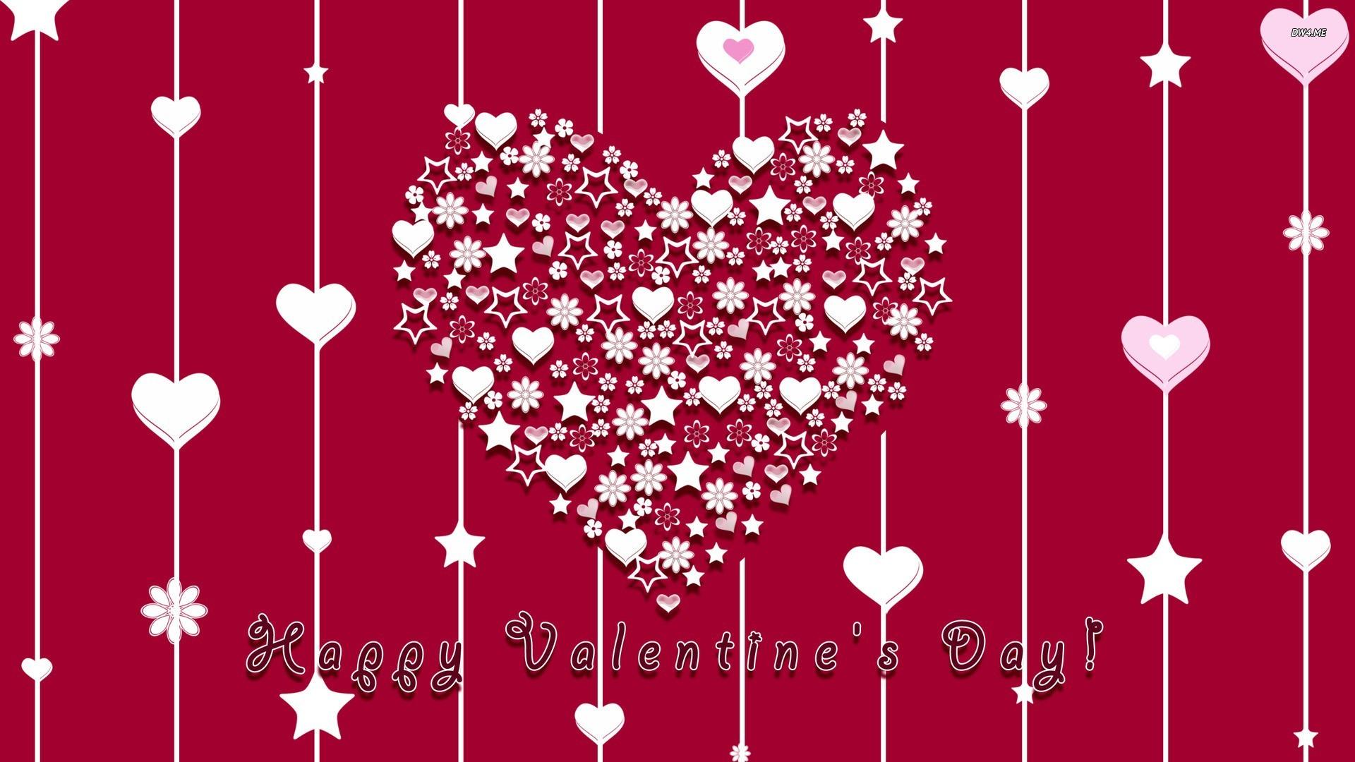 Download Valentine Heart HD Wallpaper