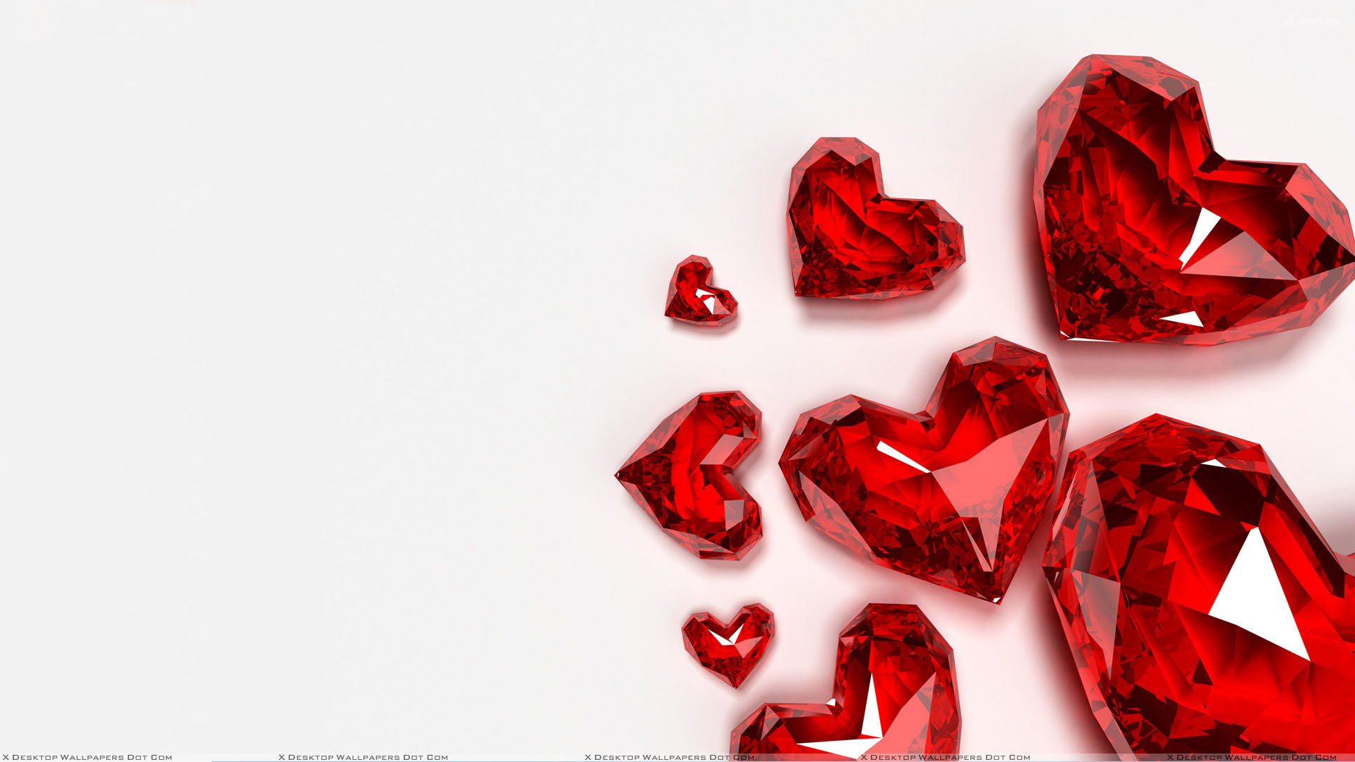Categories: Misc. Keywords: Red Hearts White Backgrounds
