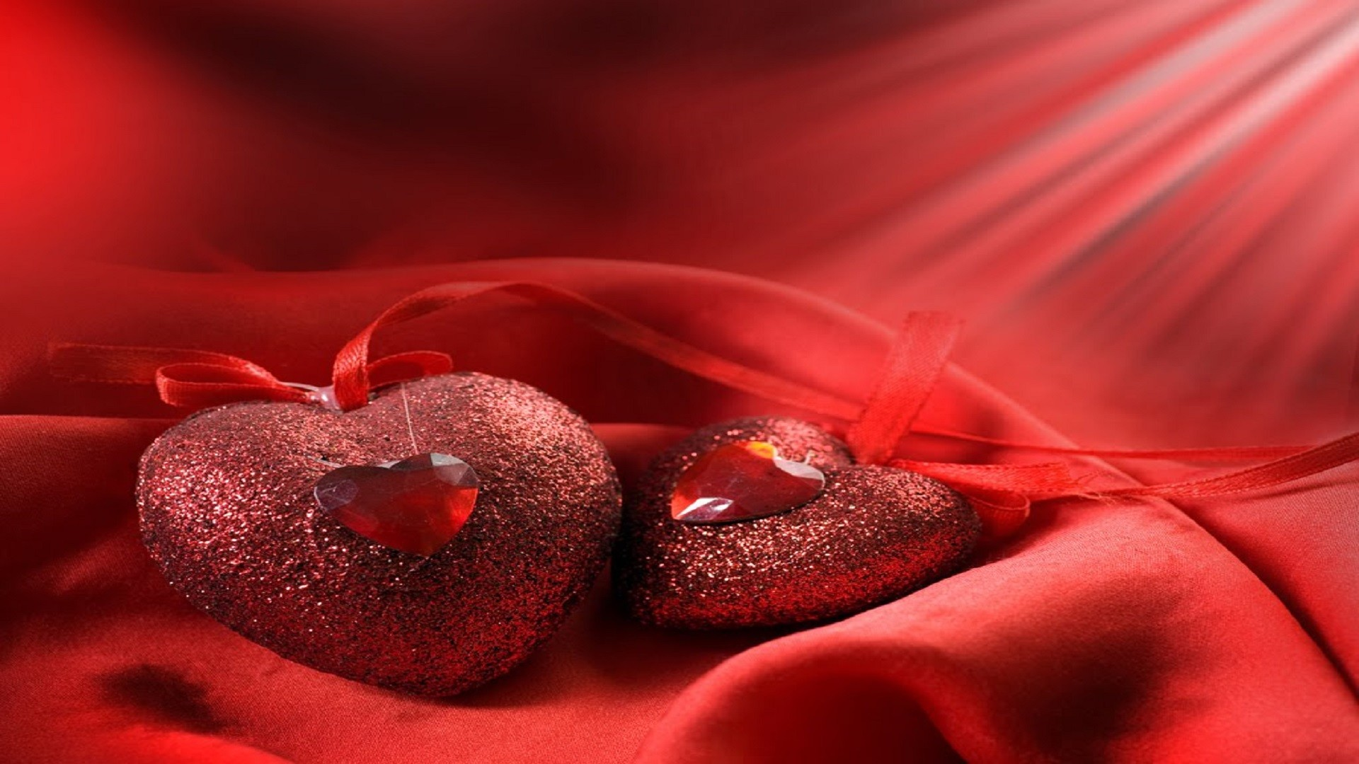 Red heart hd free wallpaper