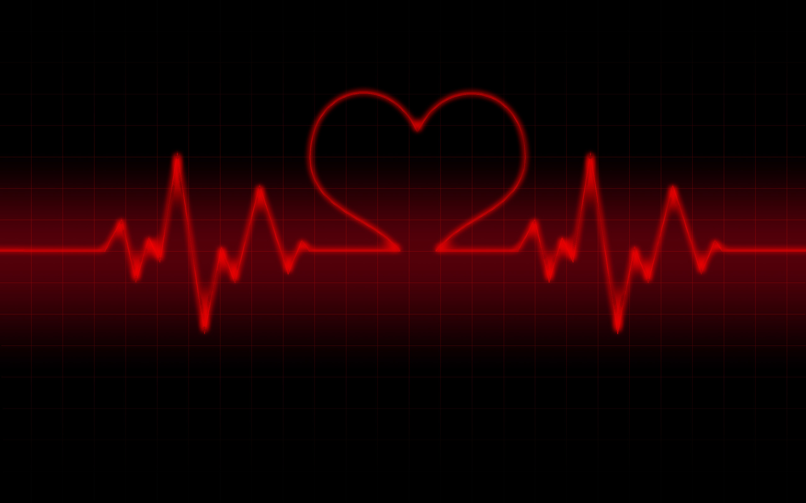 life line heart rate Wallpaper Valentine Day Red And Black Wallpapers