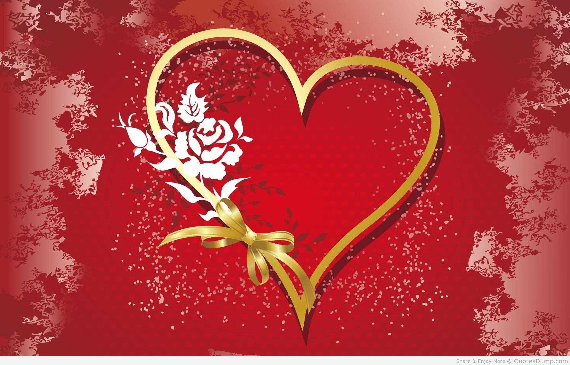 Cute Red Love Heart Wallpaper Cute Red Heart Wallpaper