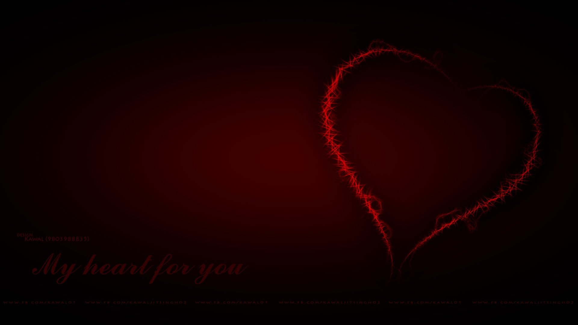 heart my heart red heart wallpaper hd kawal kawaljit kawaljit singh download