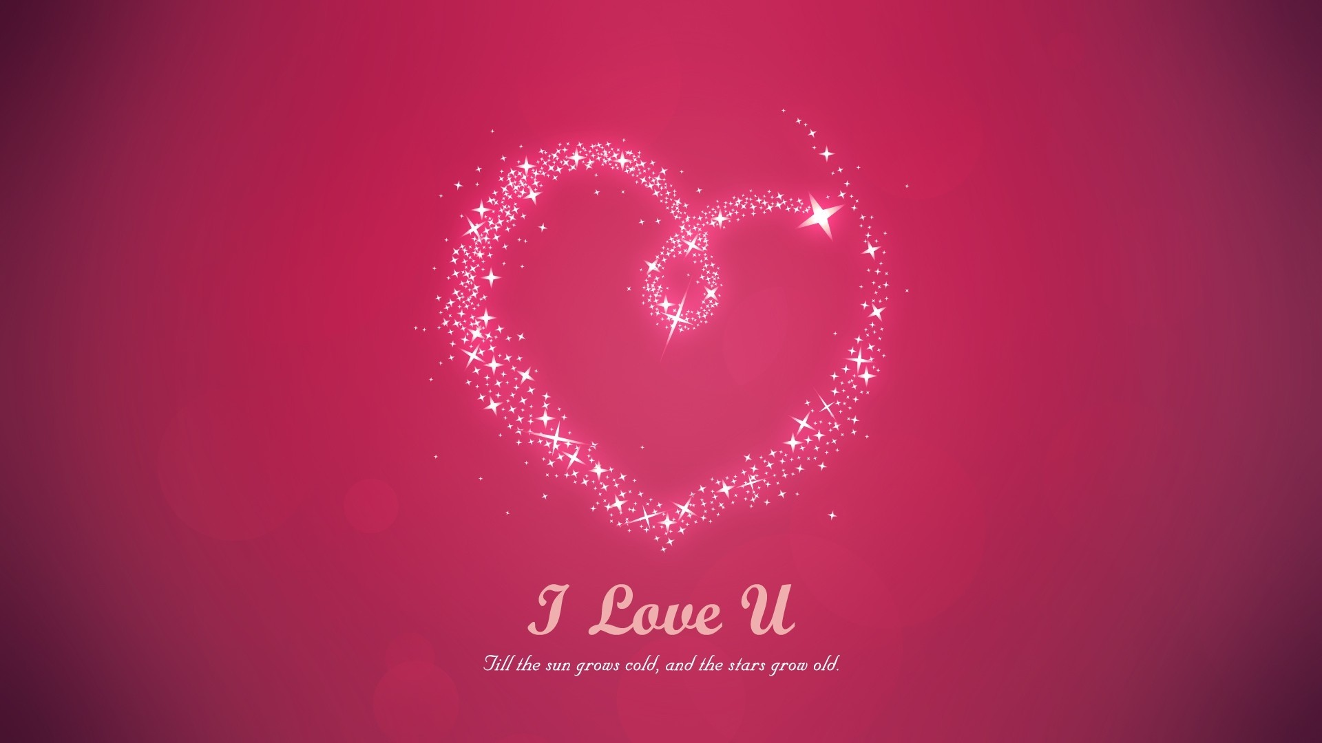 I love you mom beautiful pink image