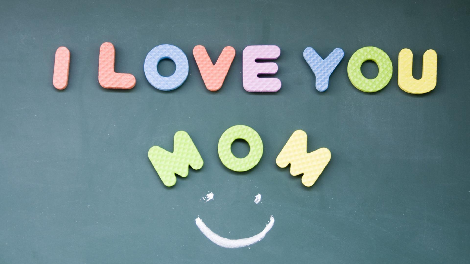 Cute I love you mom craft