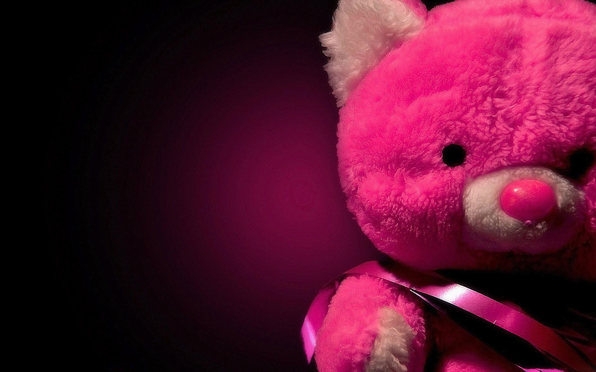 pink teddy bear love desktop wallpaper download pink teddy bear love .