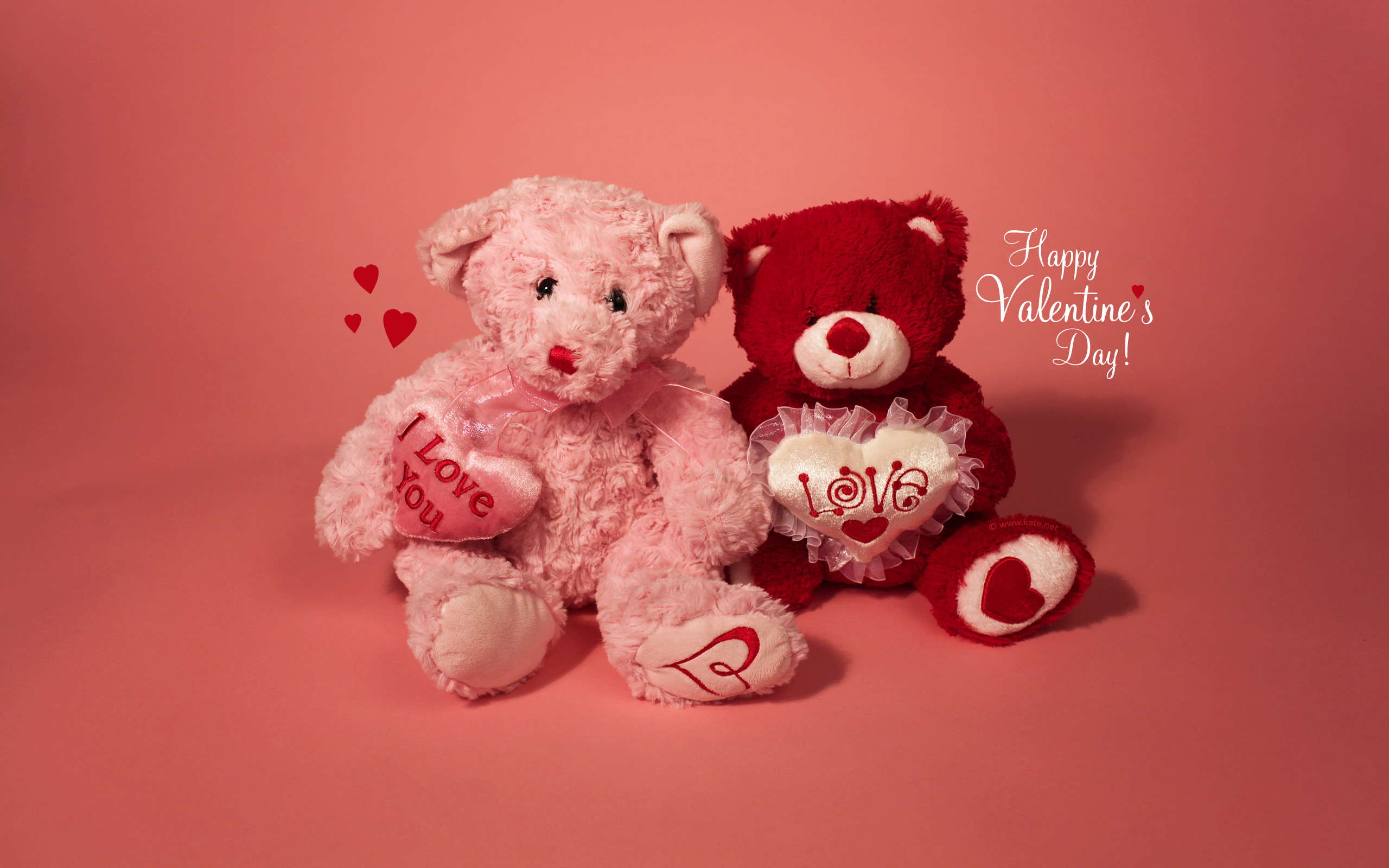 Teddy bears, Happy Valentine's Day, Love You, …