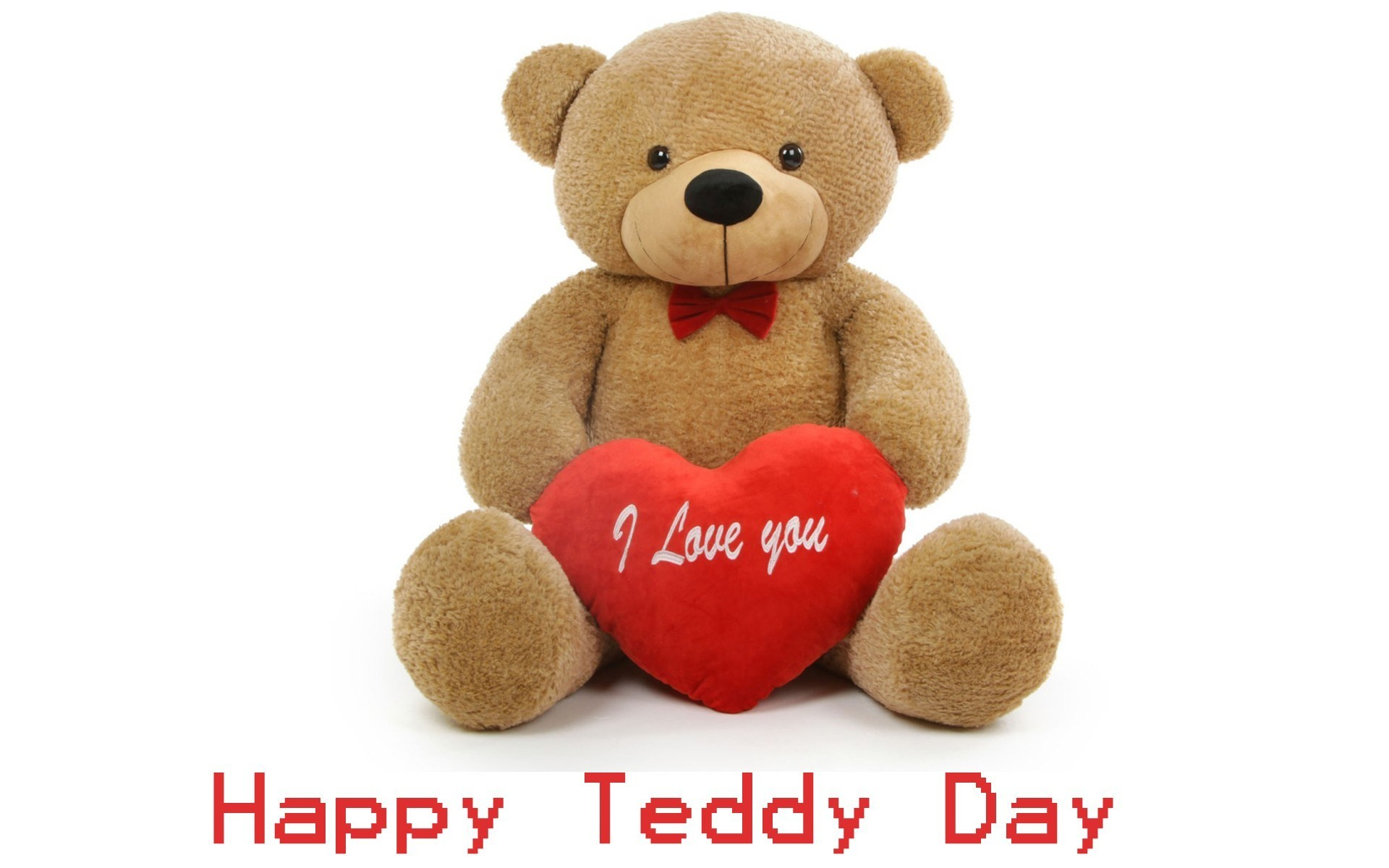 Happy Teddy Bear Day Messages, SMS, Wallpapers for Boyfriend. ""