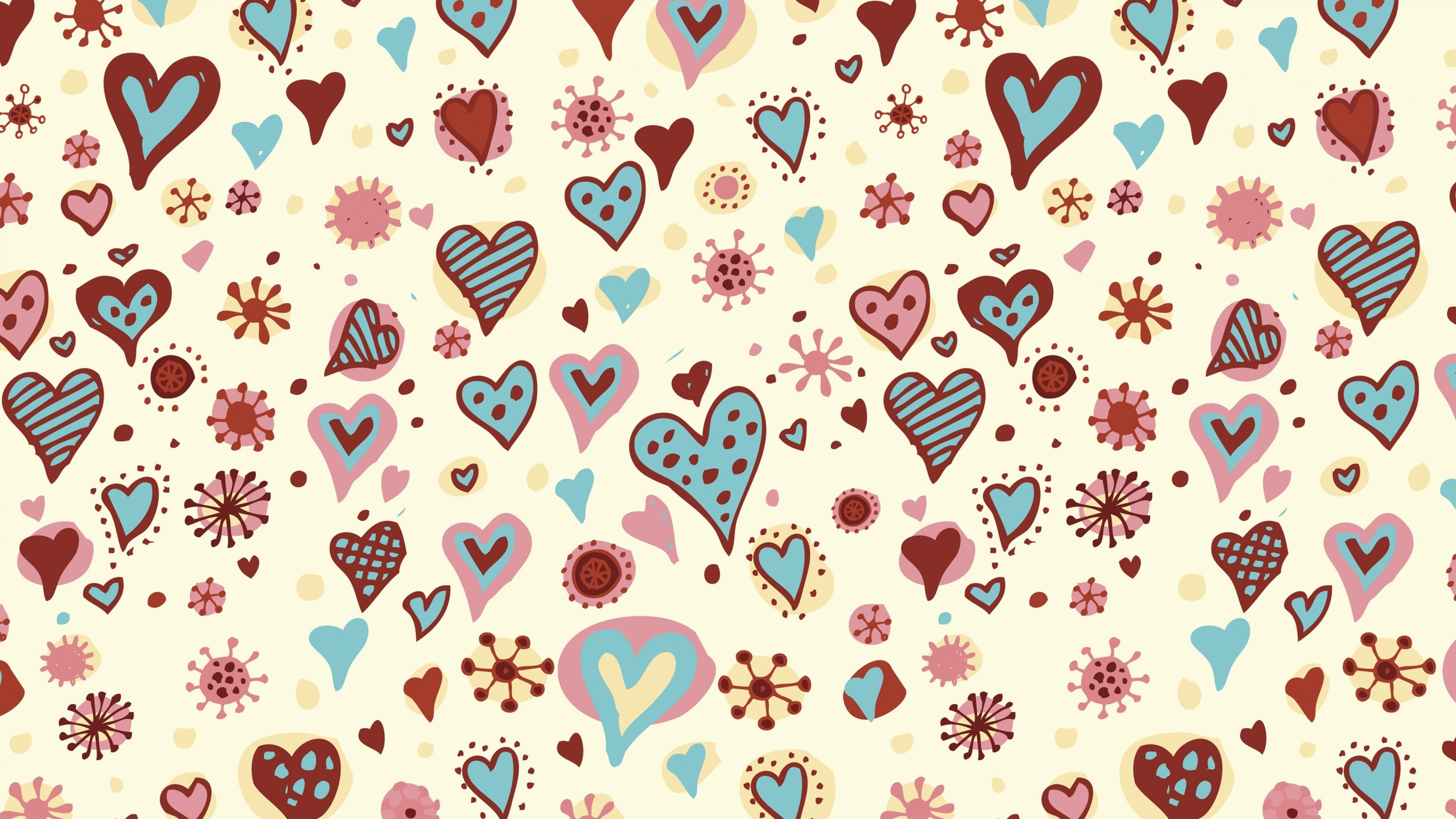 Wallpaper holiday, hearts, backgrounds, valentine