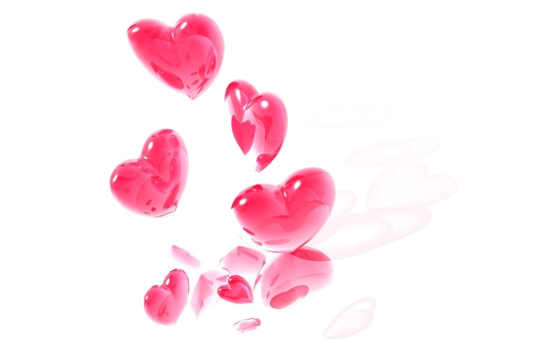 Top Pink Heart Wallpaper Background Wallpapers
