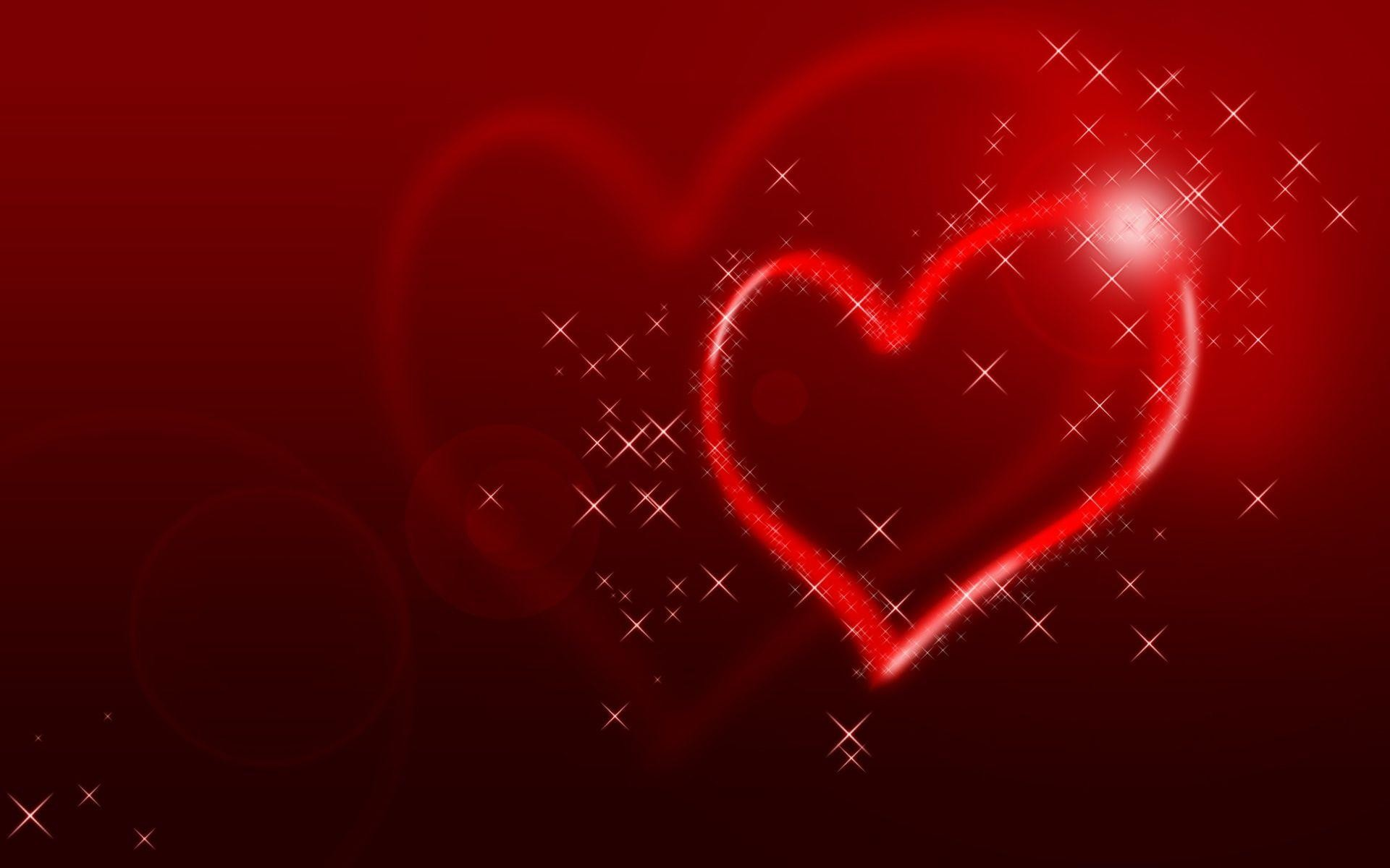 Wallpapers For > Red Hearts Wallpaper Background