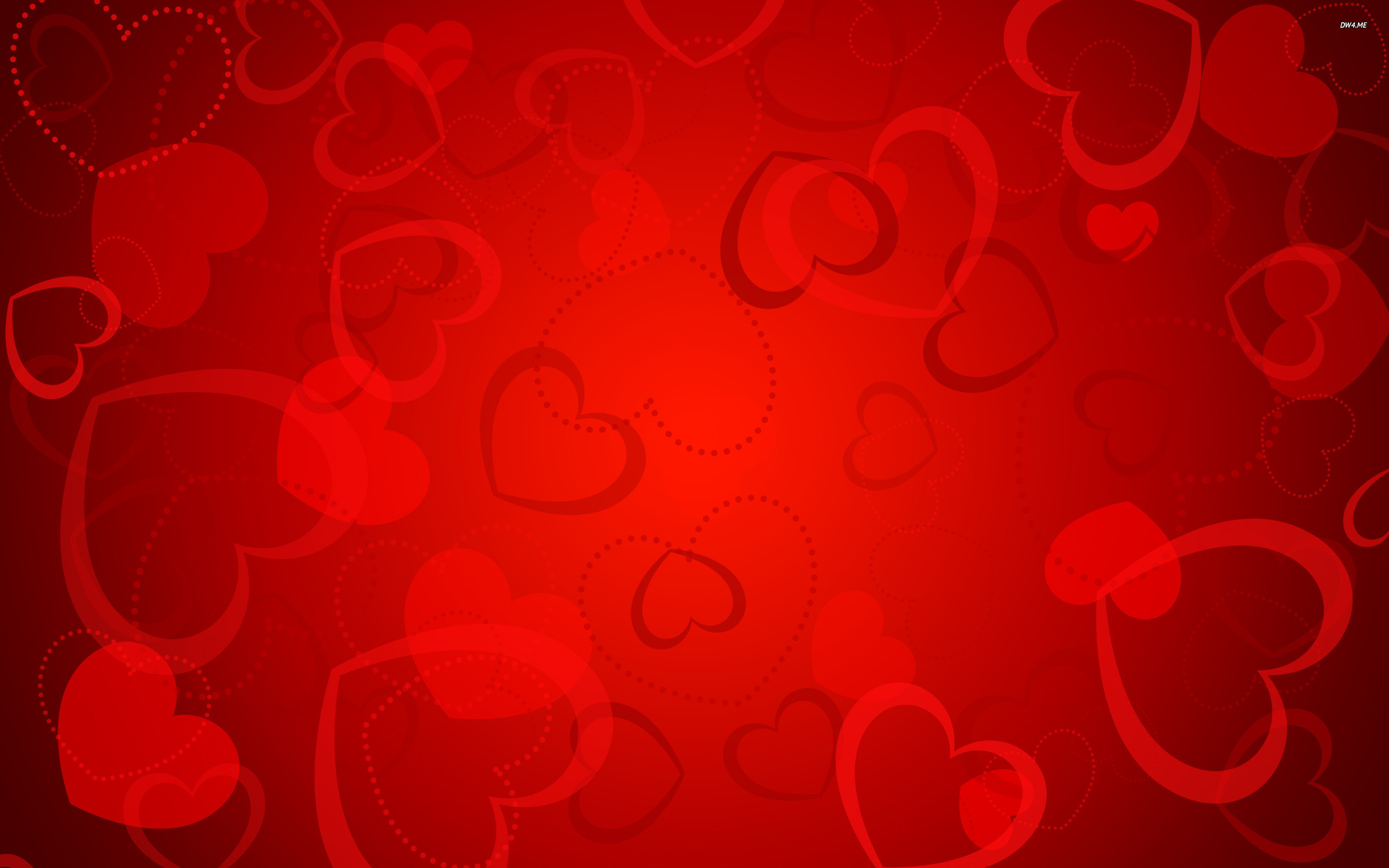 Red Hearts Wallpaper Background Red hearts wal…