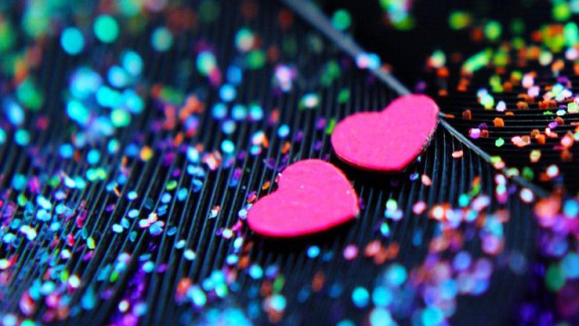 Tags: love, glitter, heart
