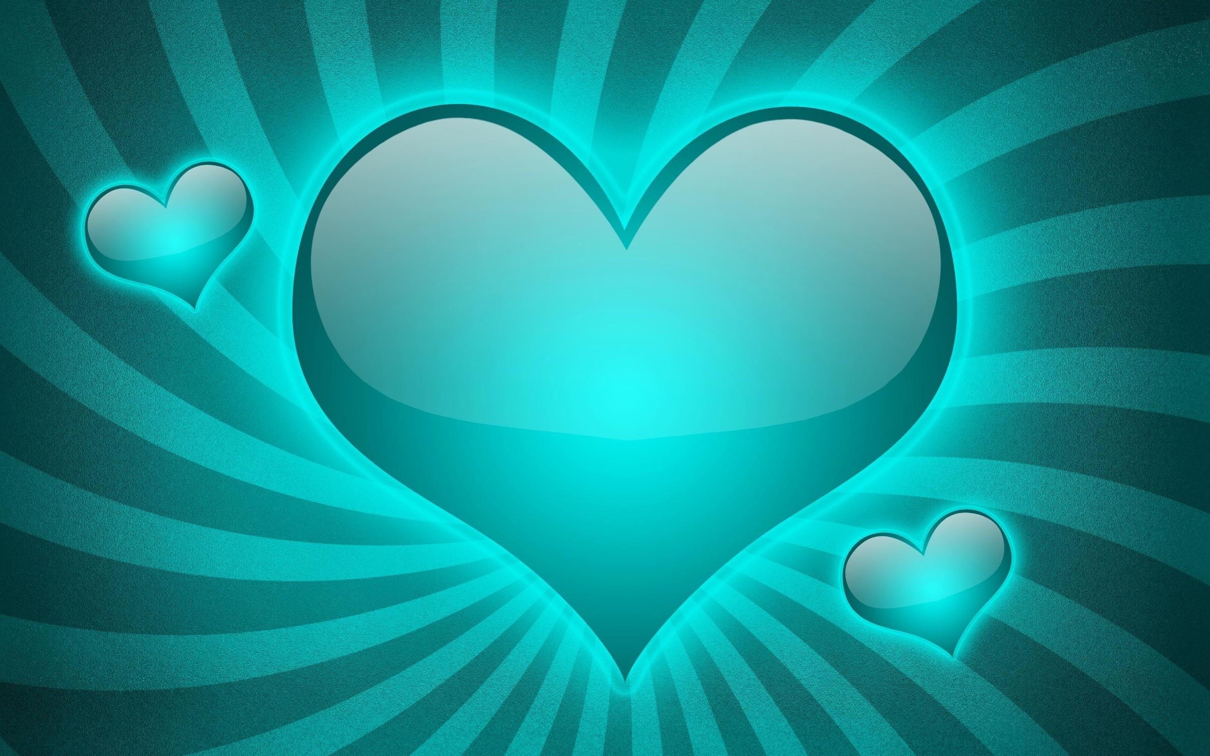 Wallpaper hearts, lines, stripes, blue