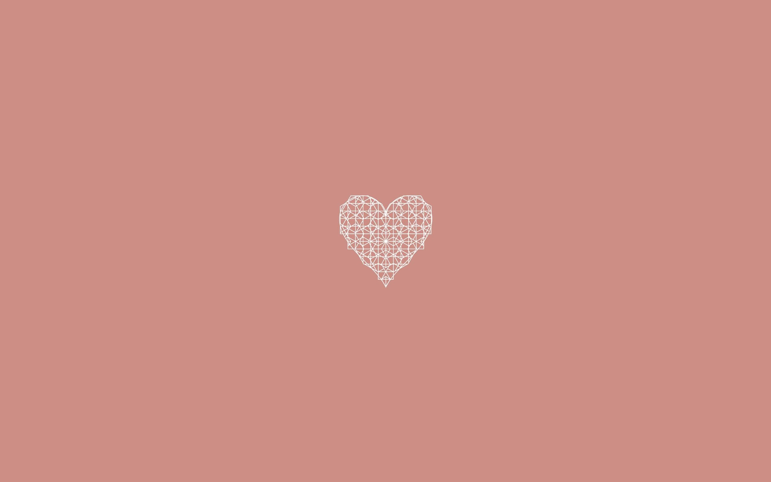 Simple Heart Background