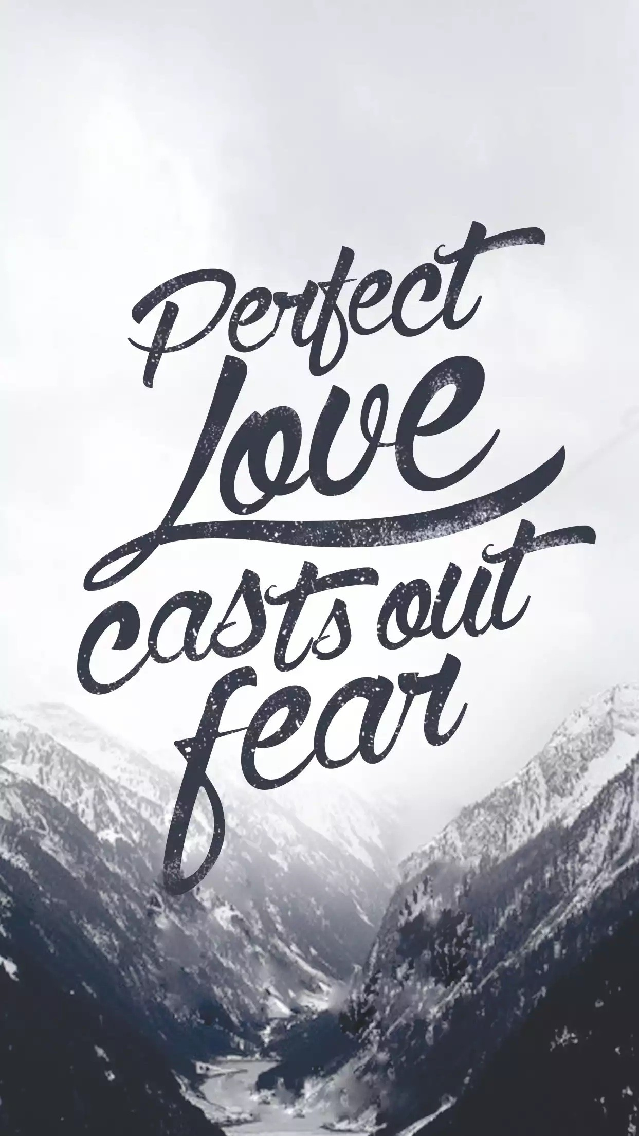 1 John love casts out all fear/Bible verse/Quote