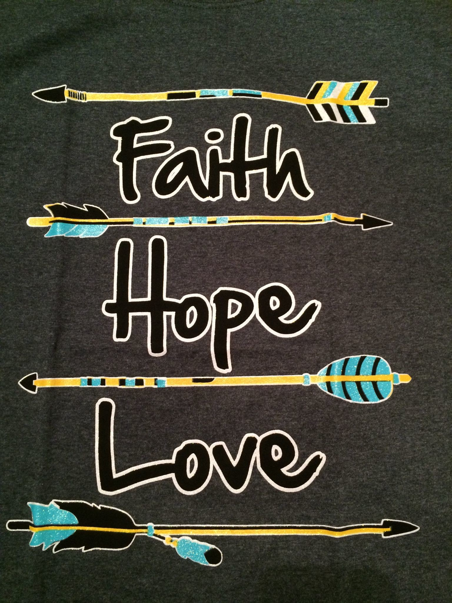 Faith Hope Love – Arrow T-Shirt GRAY · Wallpaper QuotesWallpaper Backgrounds Iphone …