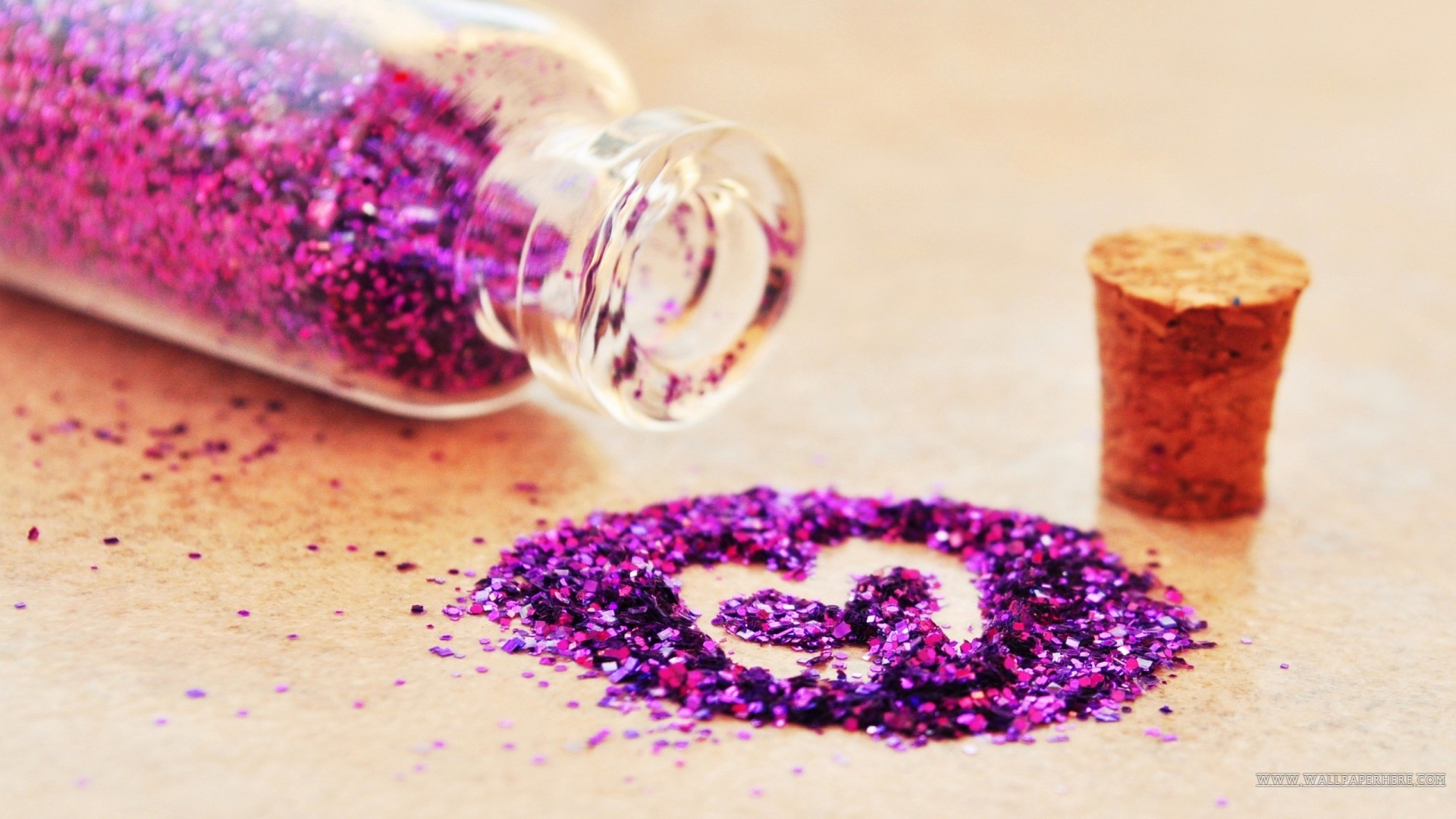 High Resolution Glitter Cute Love Wallpaper Full Size .