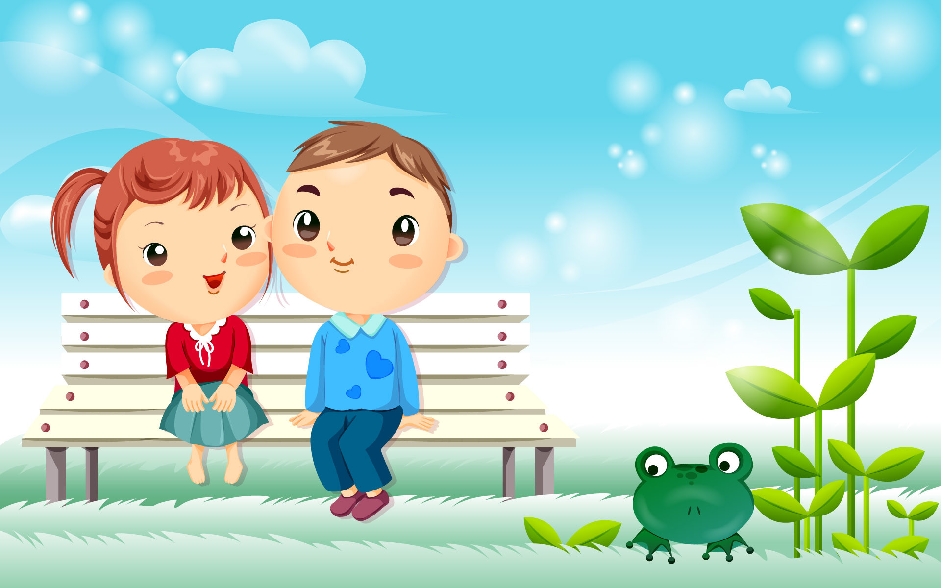 Cute love background