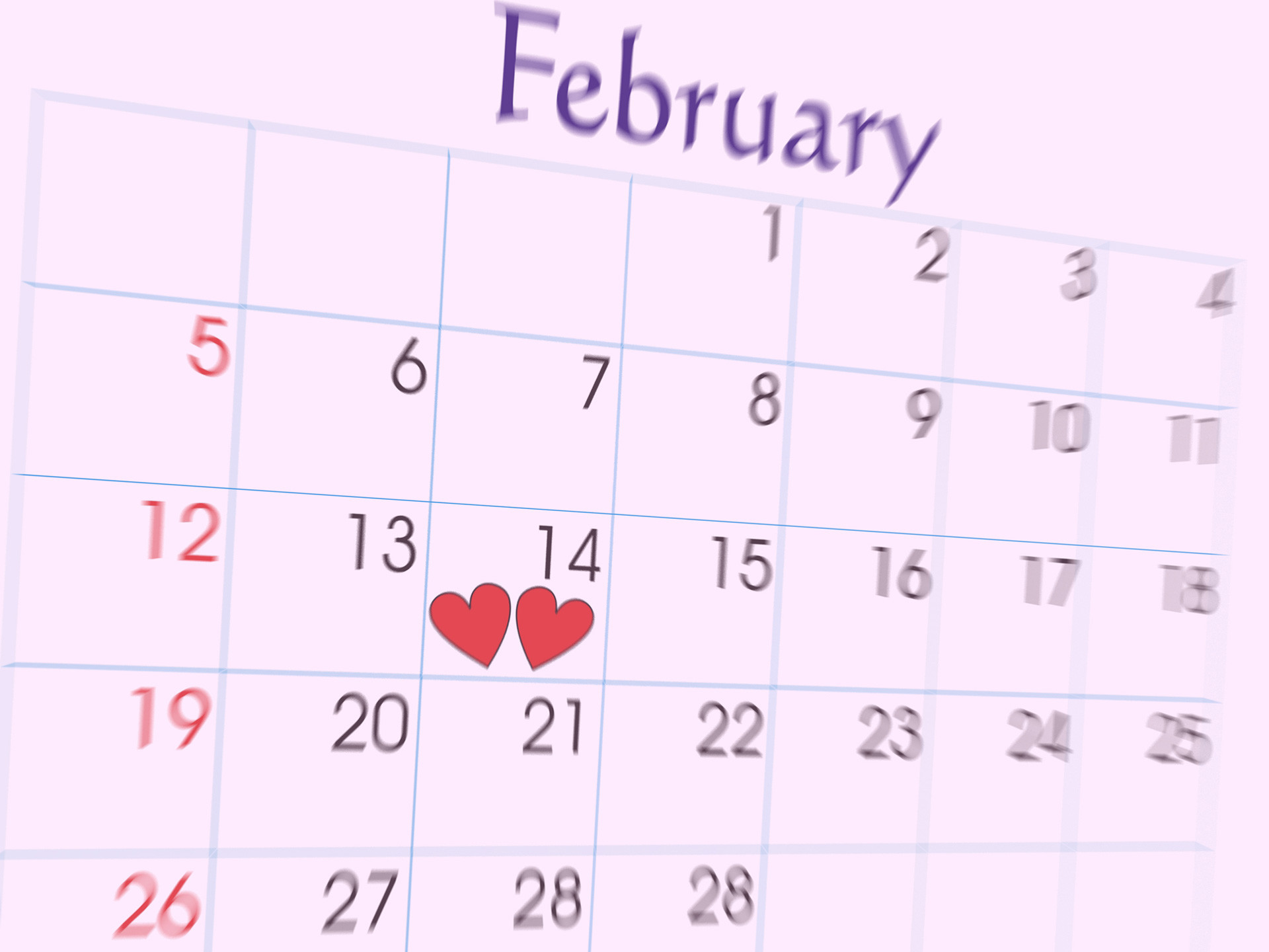 February 14th Lovers Day Special Fhd Wallpaper