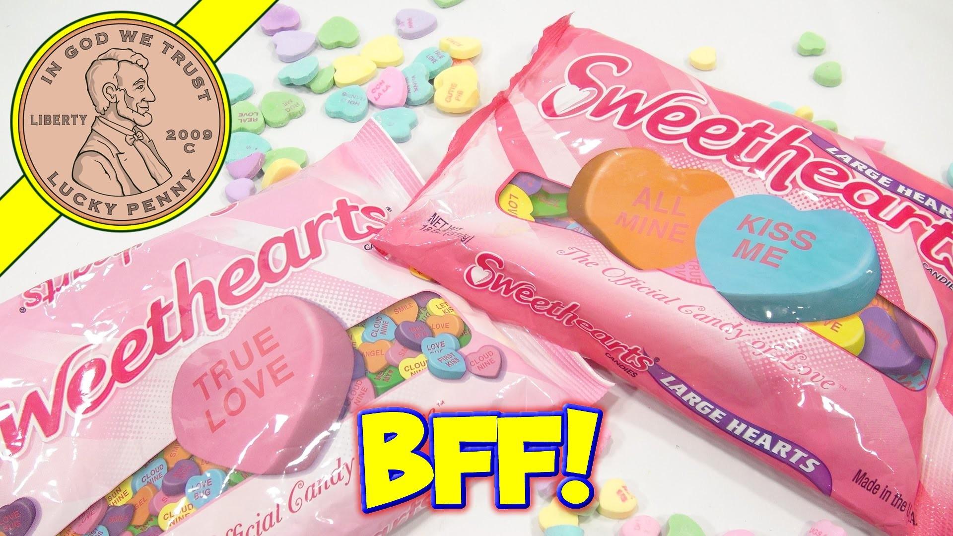 Sweethearts Conversation Hearts – My BFF! Hugs & Kisses :)