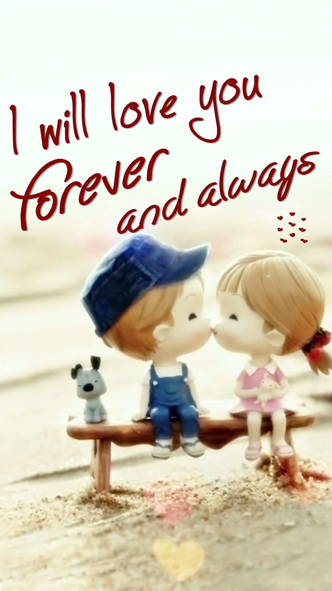 Tap image for more love wallpapers! Love you forever – @mobile9 | iPhone 6