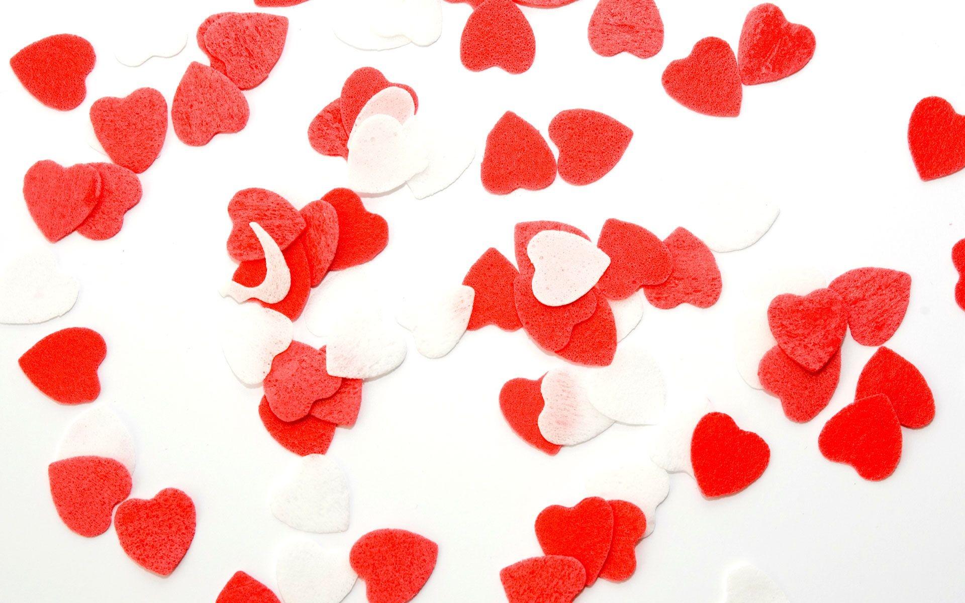 Love Wallpaper Full Of Hearts