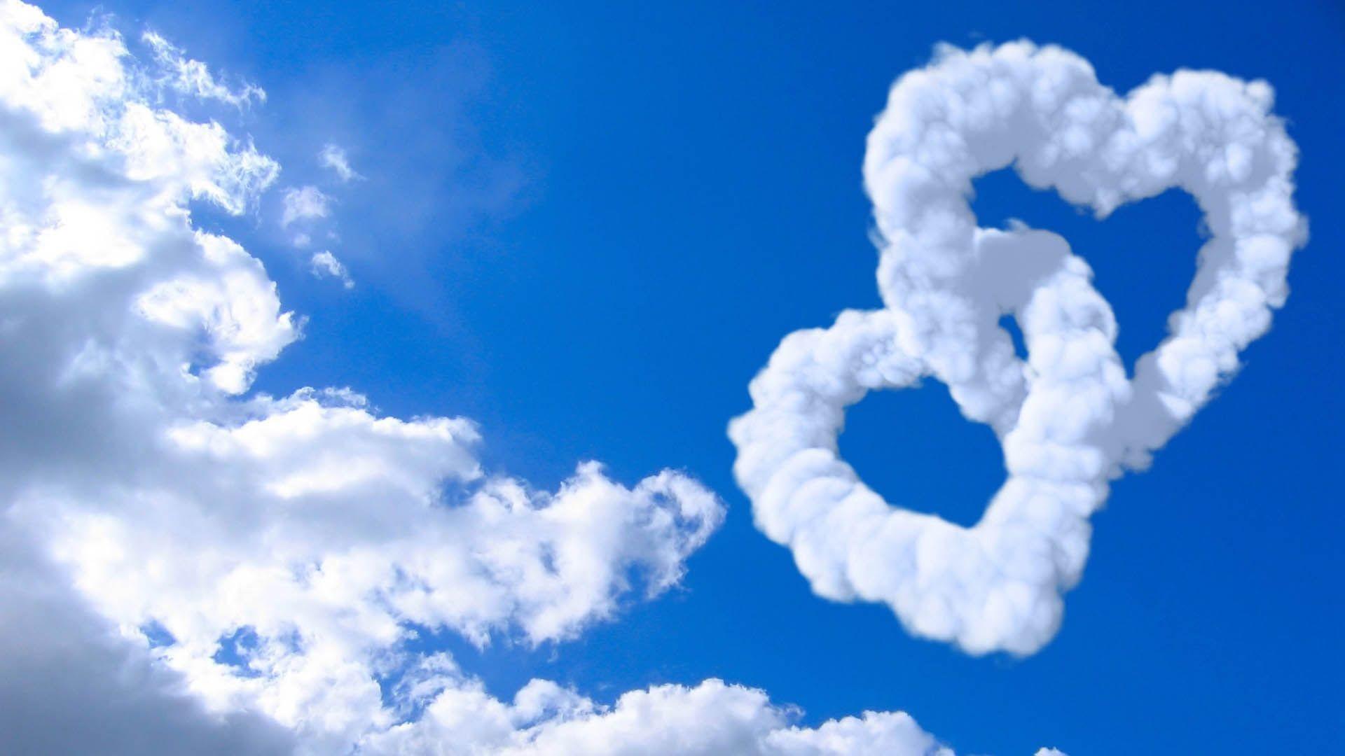 cloud wallpaper love heart. Â«Â«