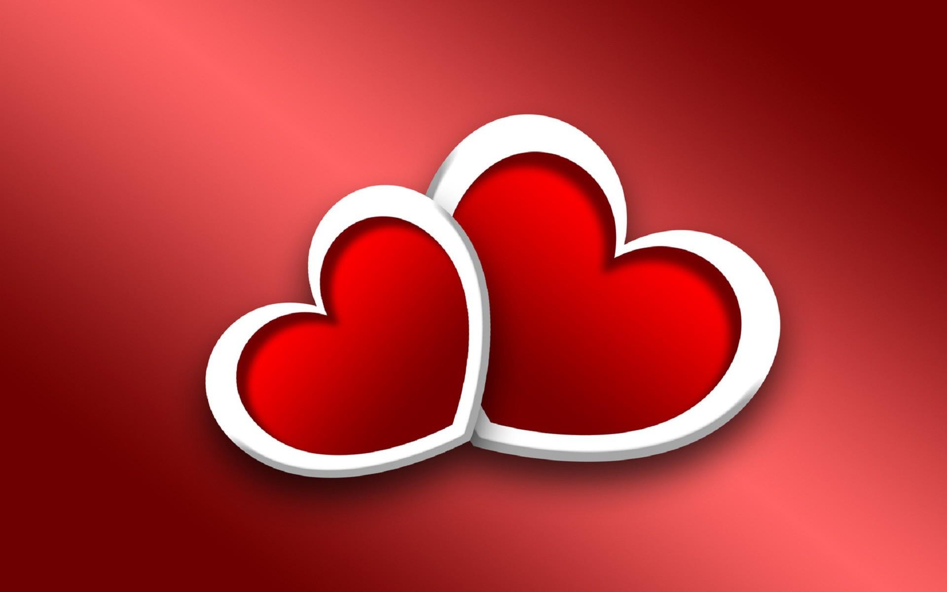 Love you saying heart photo