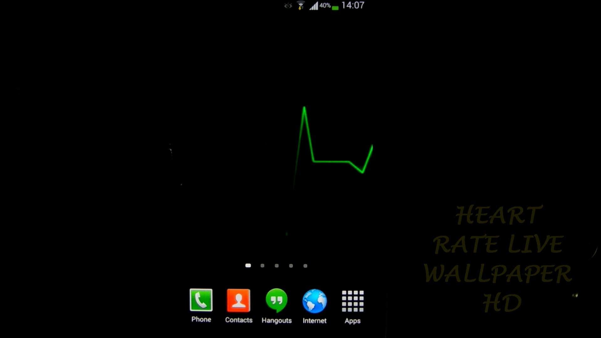Heart Rate Live Wallpaper HD