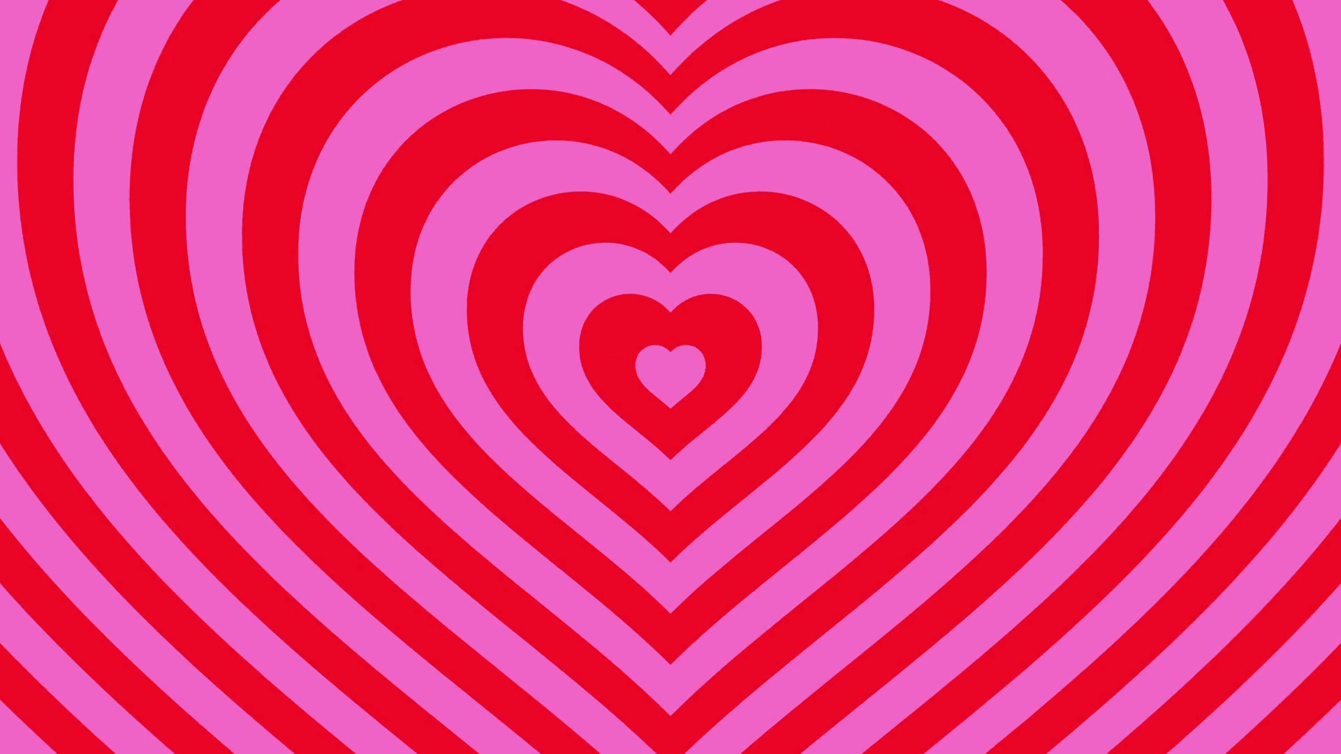 Love hearts background loop valentines day Red Pink Motion Background –  VideoBlocks