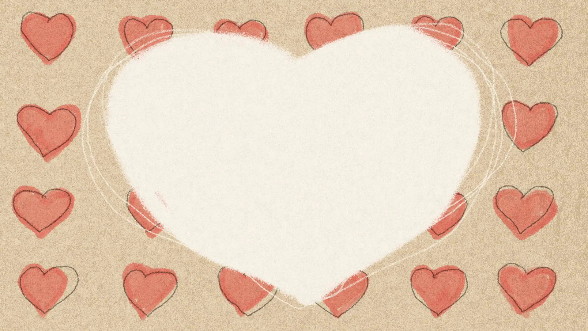 Love Hearts Background Pencil Animation Motion Background – VideoBlocks