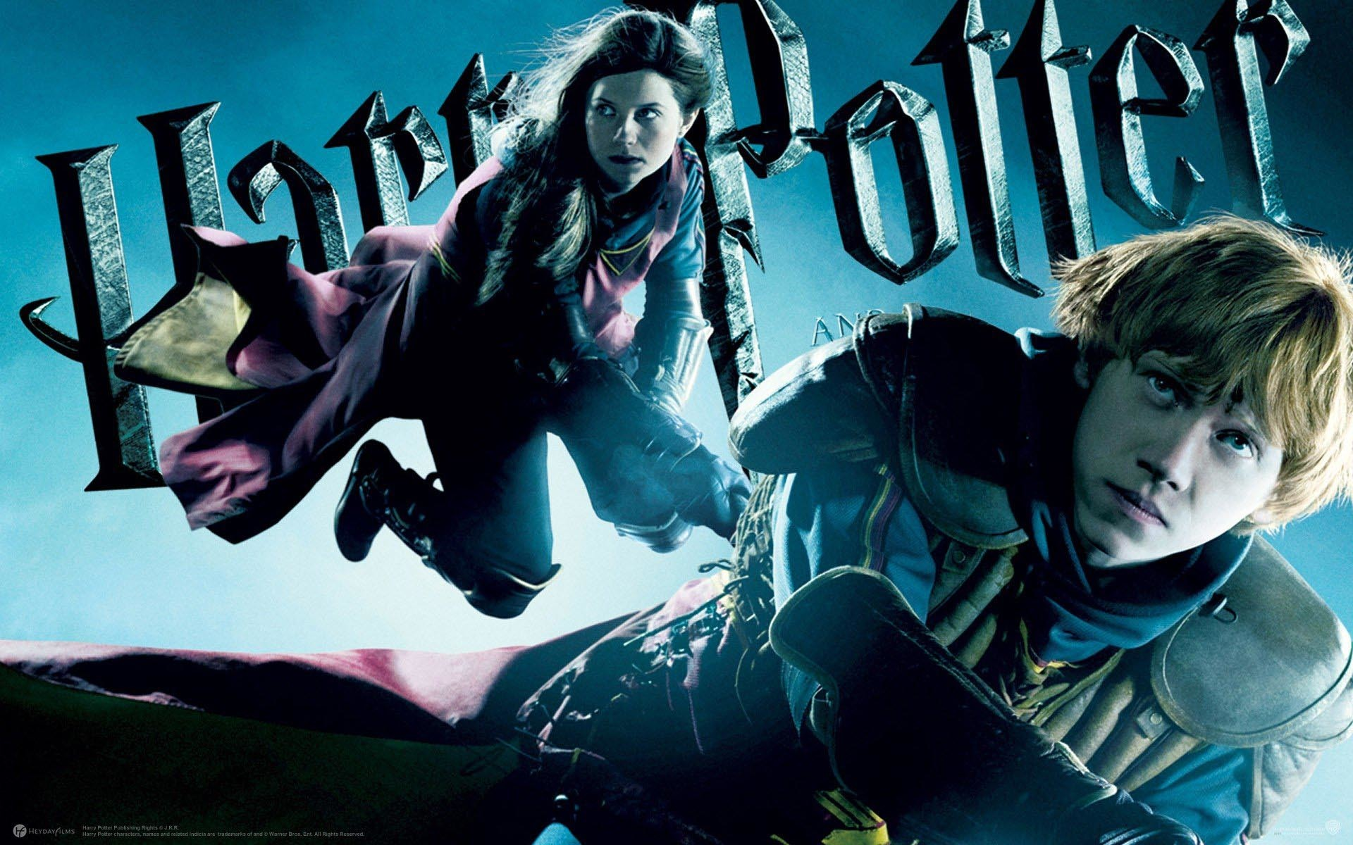 Lavender Brown & Ron Weasley – Harry Potter and the Half-Blood Prince  wallpaper