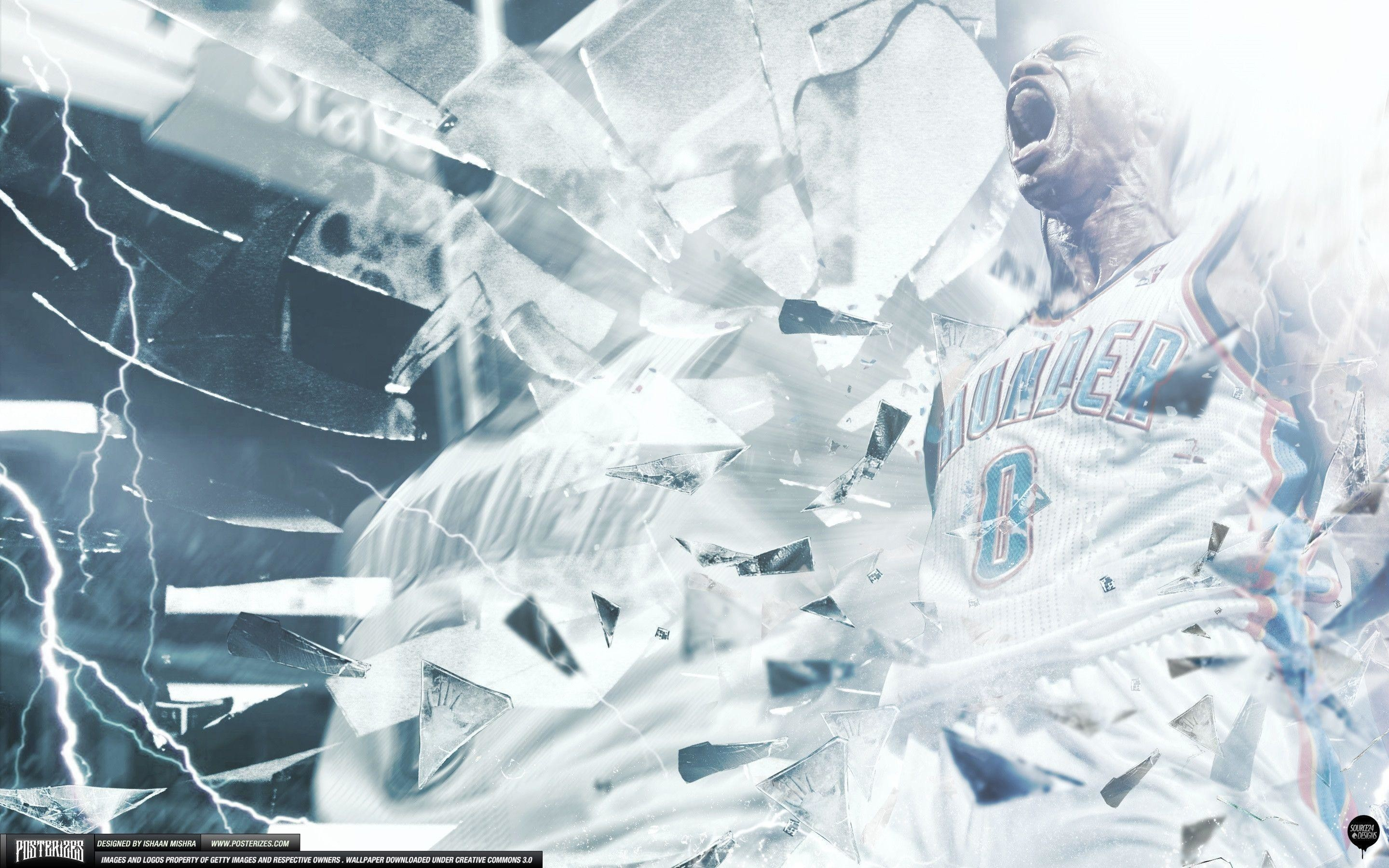 Russell Westbrook Wallpaper by IshaanMishra on DeviantArt