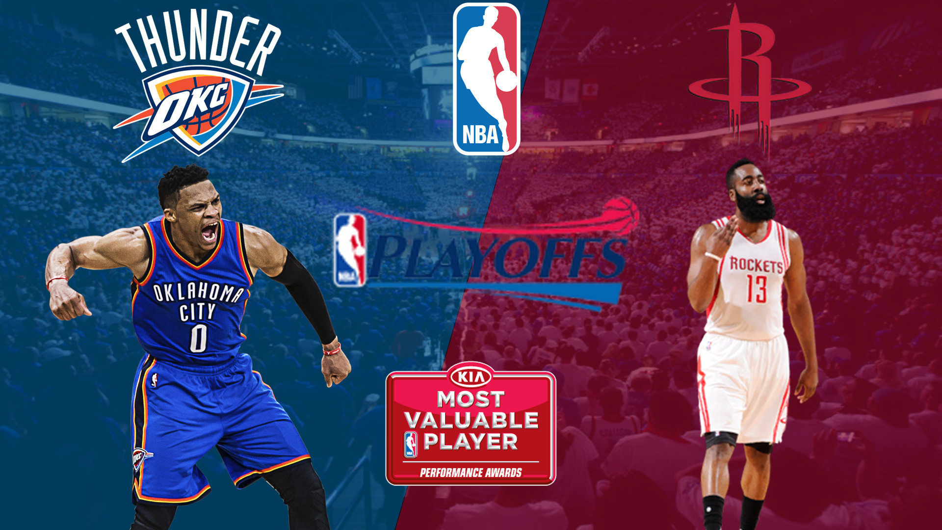 Russell Westbrook vs James Harden (Rate 1-10)