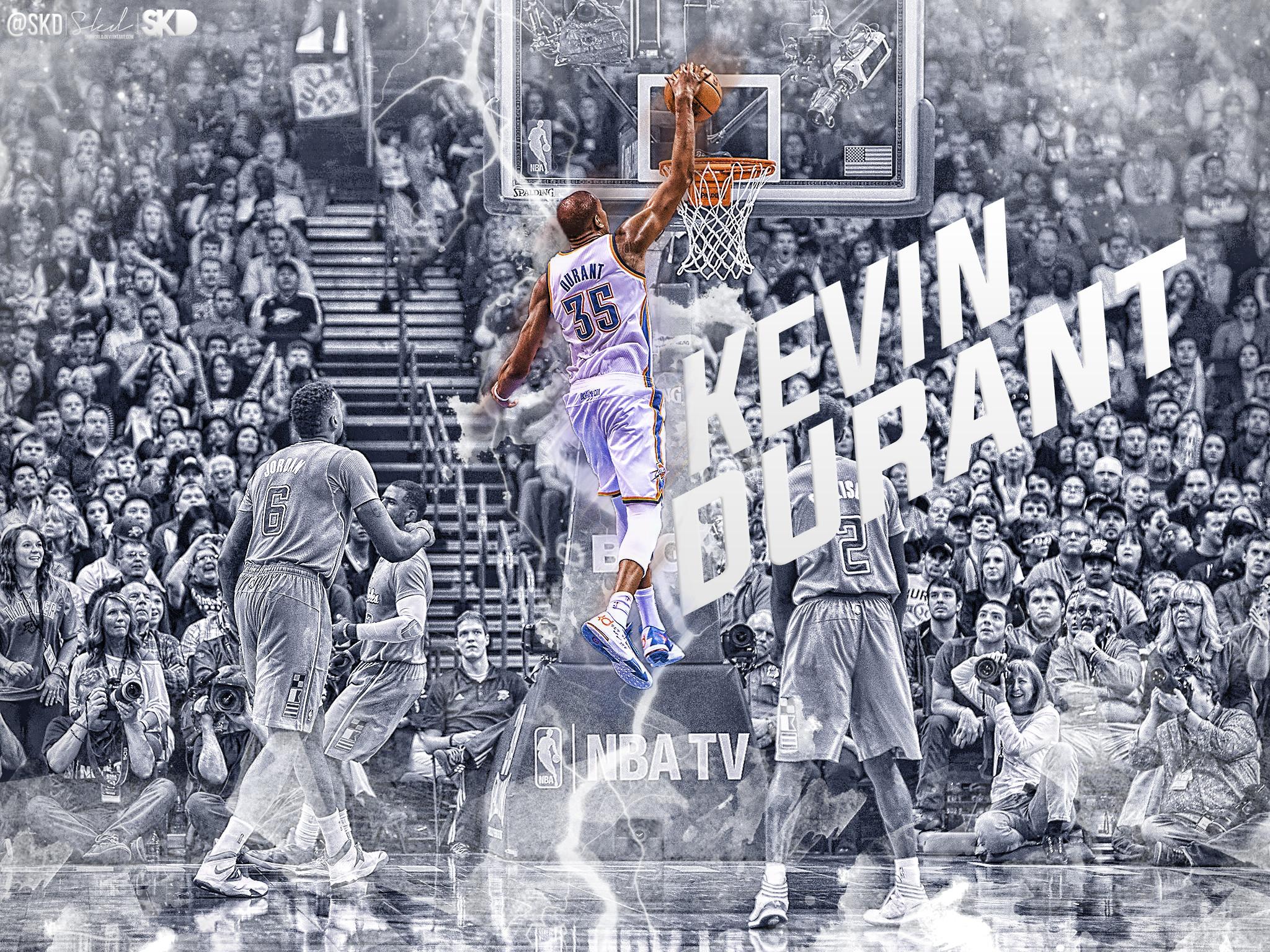 Kevin Durant Cold Dunk Wallpaper by SkdWorld on DeviantArt