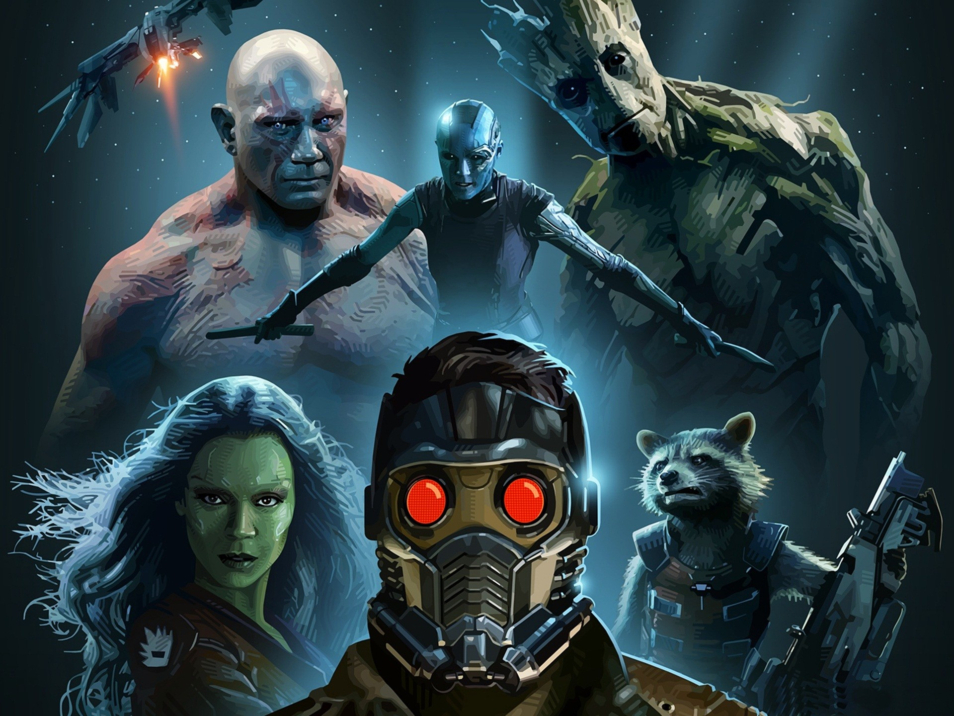 Full HD 1080p Guardians of the galaxy Wallpapers HD