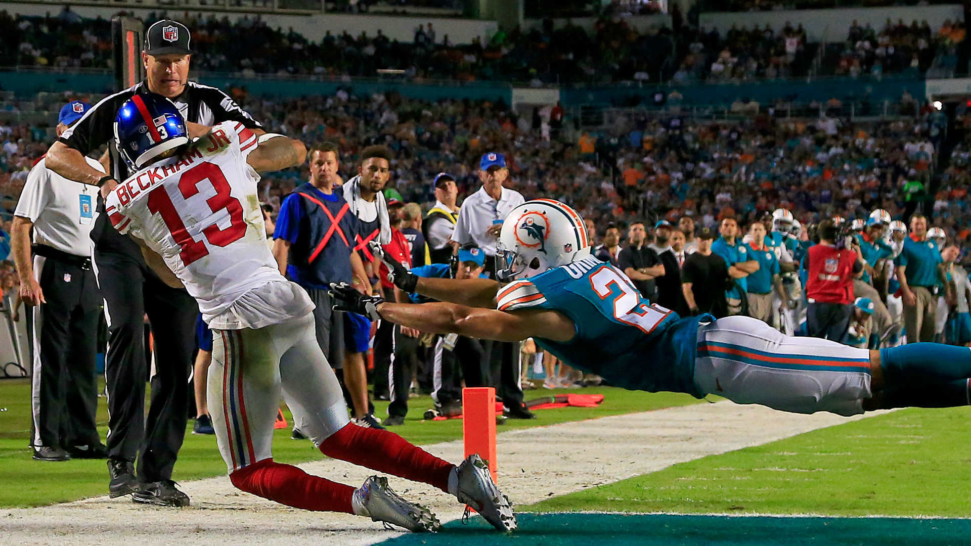 Odell Beckham Jr.'s big night the difference as Giants beat Dolphins | NFL  | Sporting News