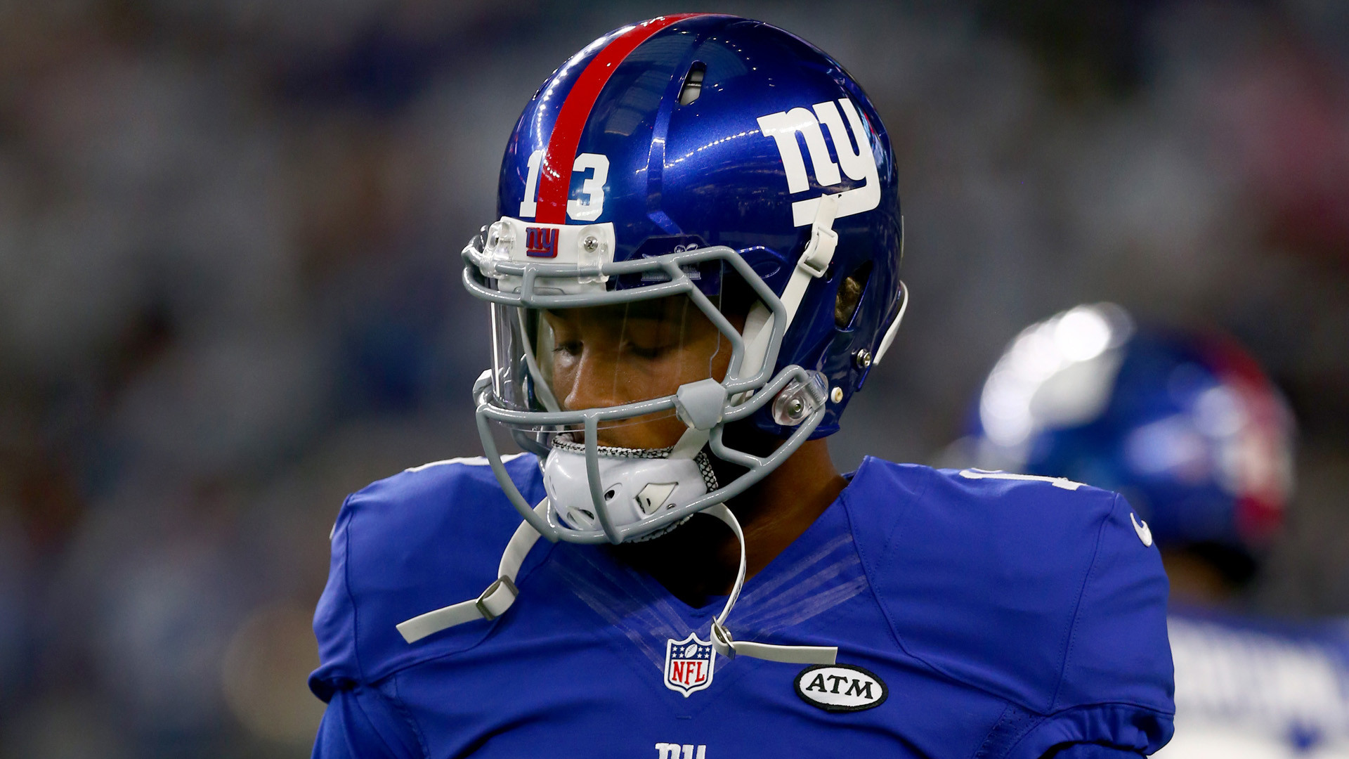 Odell Beckham Jr got off the mark for the Giants in the new season with this