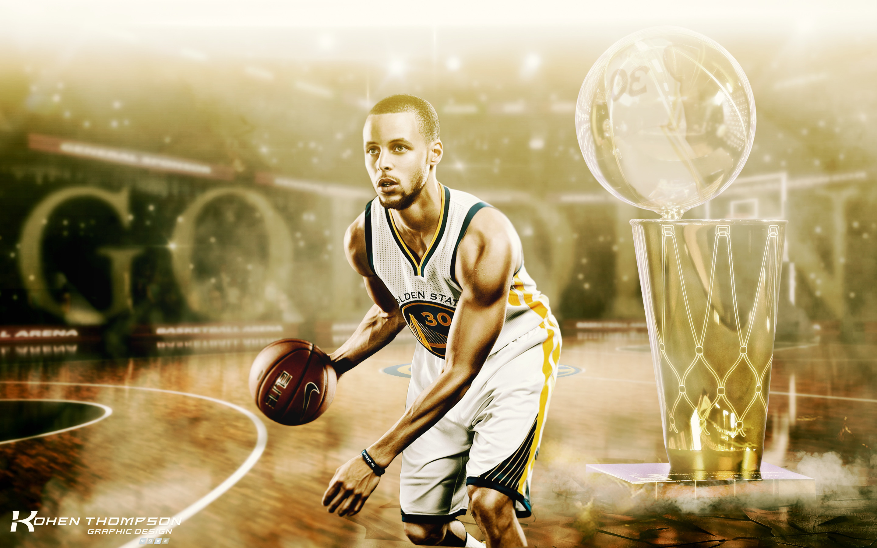 Stephen Curry Wallpaper by kohentdesign Stephen Curry Wallpaper by  kohentdesign