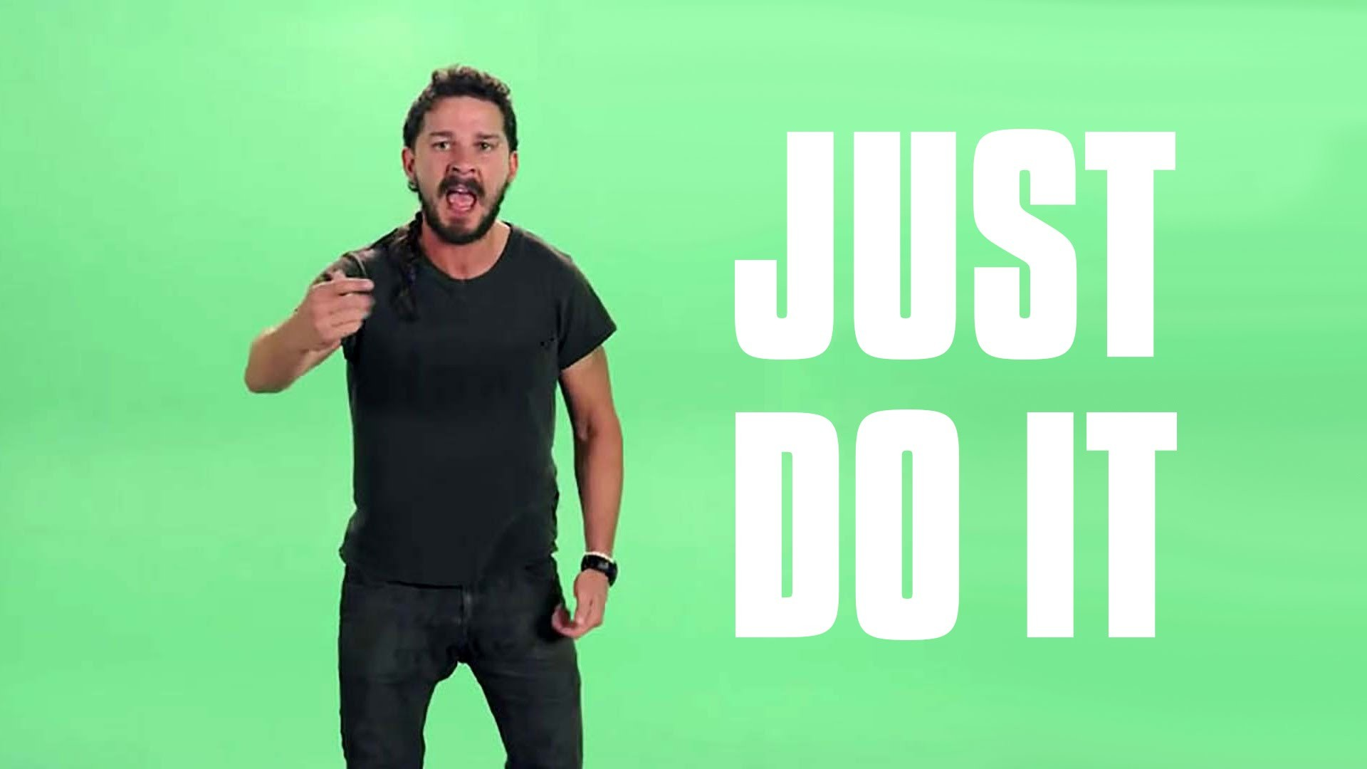 """JUST DO IT"" Shia LaBeouf Most Intense Motivational Speech   Green Screen  (HD) – YouTube"