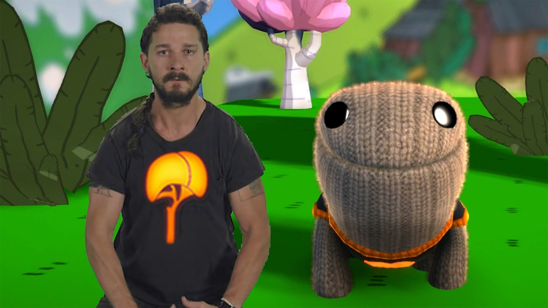 Just Do It – Shia LaBeouf Gives Motivational Speech To OddSock –  LittleBigPlanet 3 Animation – YouTube