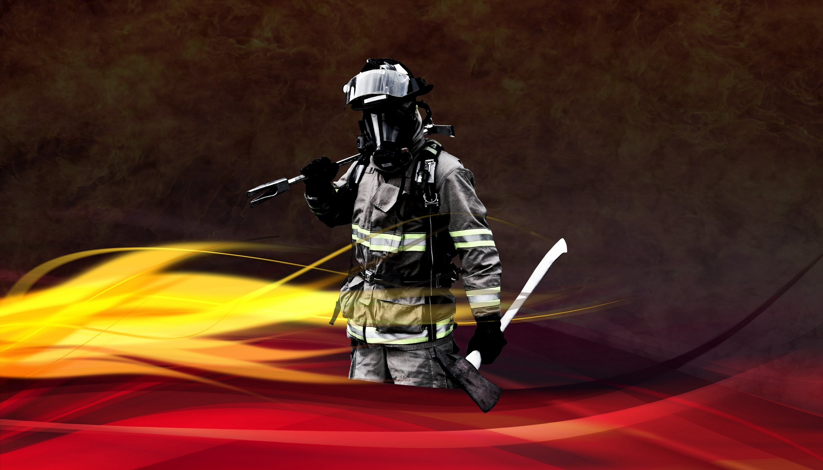 Volunteer Firefighter Wallpaper South sherman fire