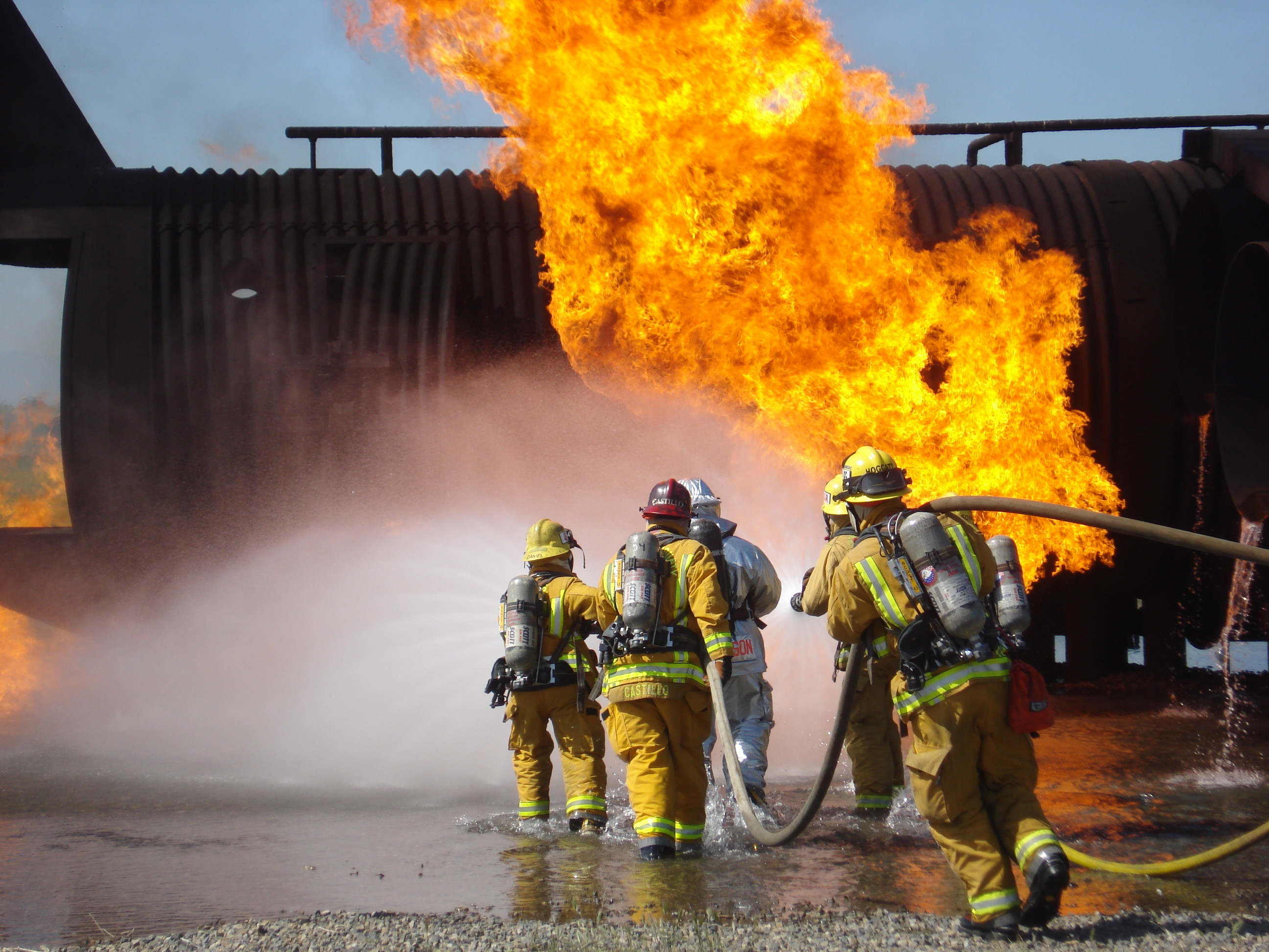 HD Wallpaper | Background ID:582915. Men Firefighter
