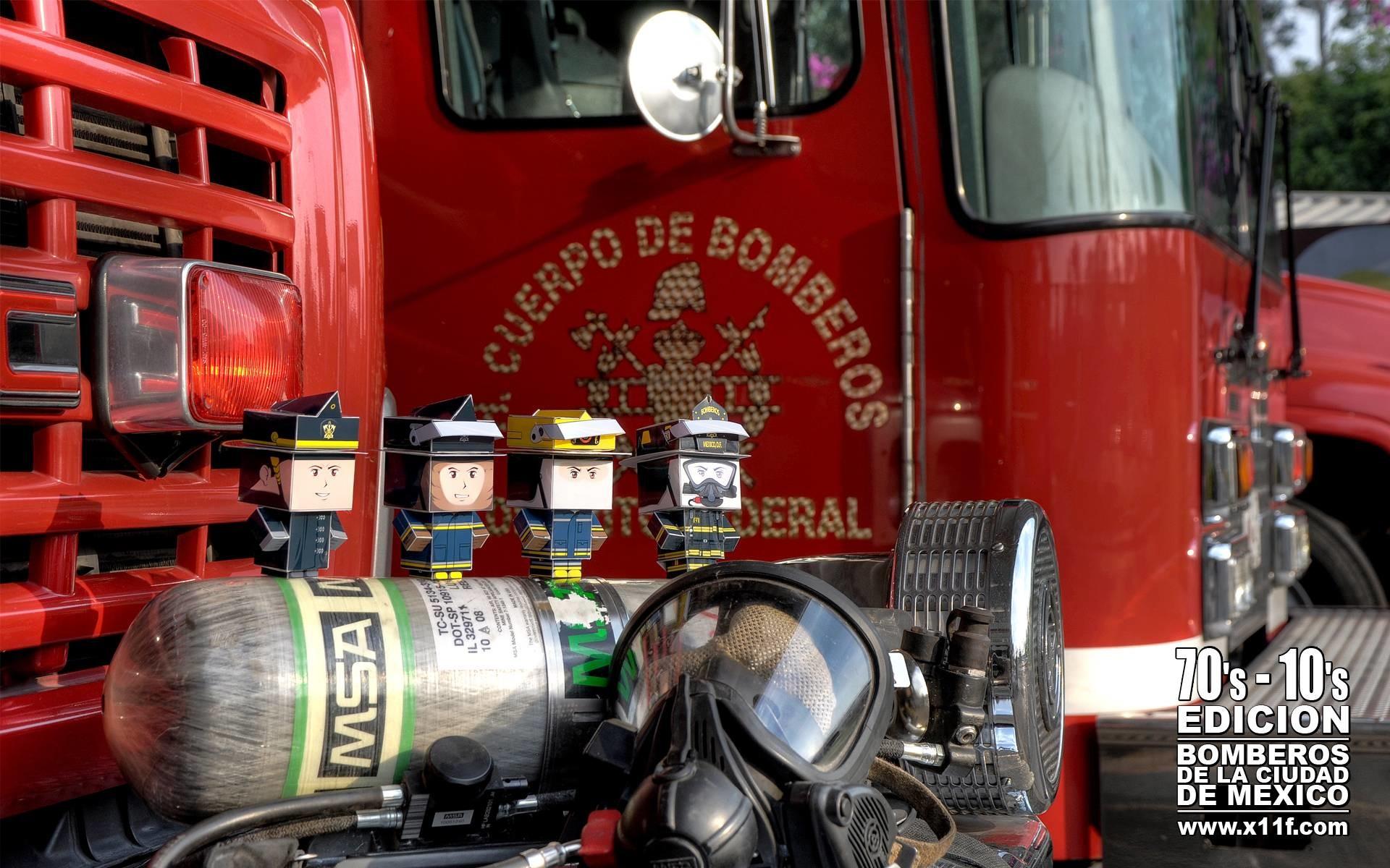 cubeelog » Cubeecraft Firefighters by Ricardo Herrera