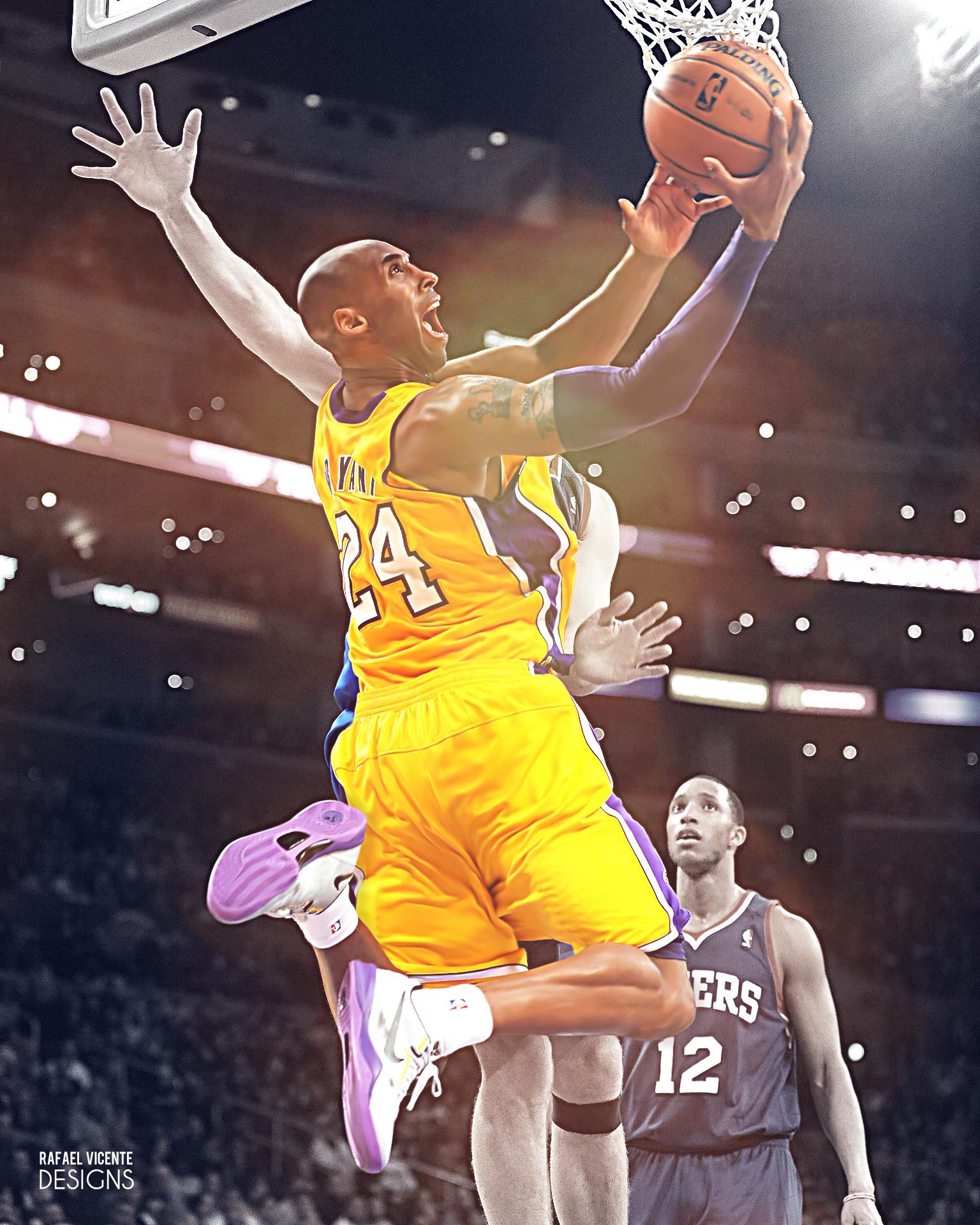 Kobe Bryant by RafaelVicenteDesigns Kobe Bryant by RafaelVicenteDesigns